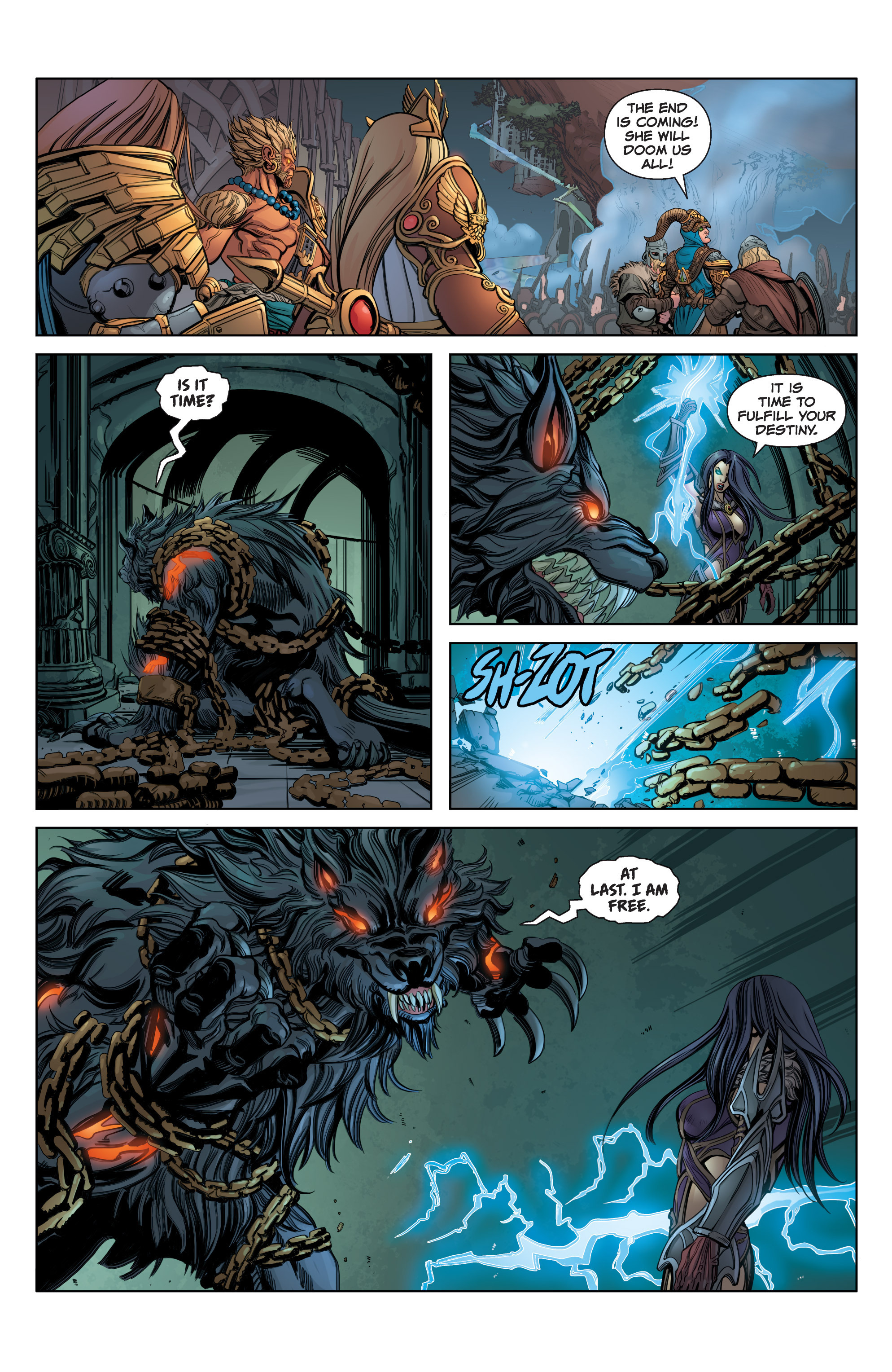 Read online SMITE: The Pantheon War comic -  Issue #3 - 20