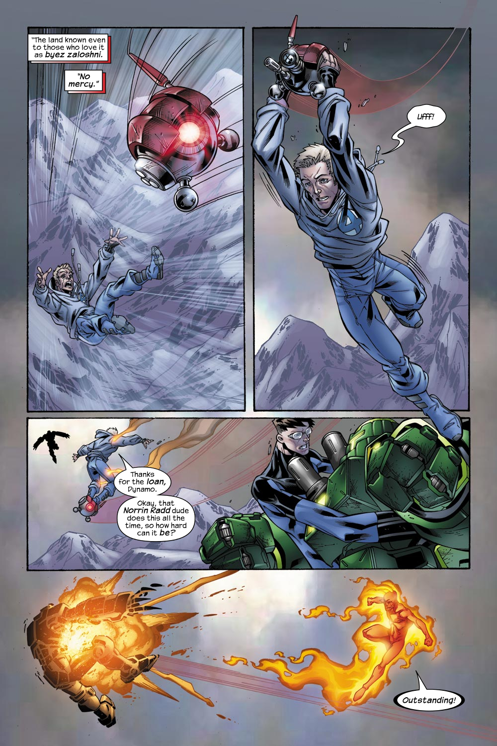 Read online Ultimate Fantastic Four (2004) comic -  Issue #49 - 8