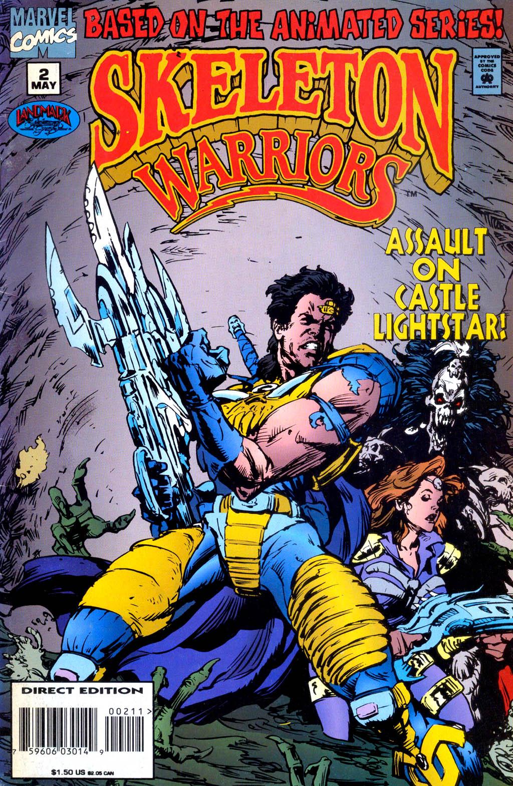Skeleton Warriors Issue #2 #2 - English 1