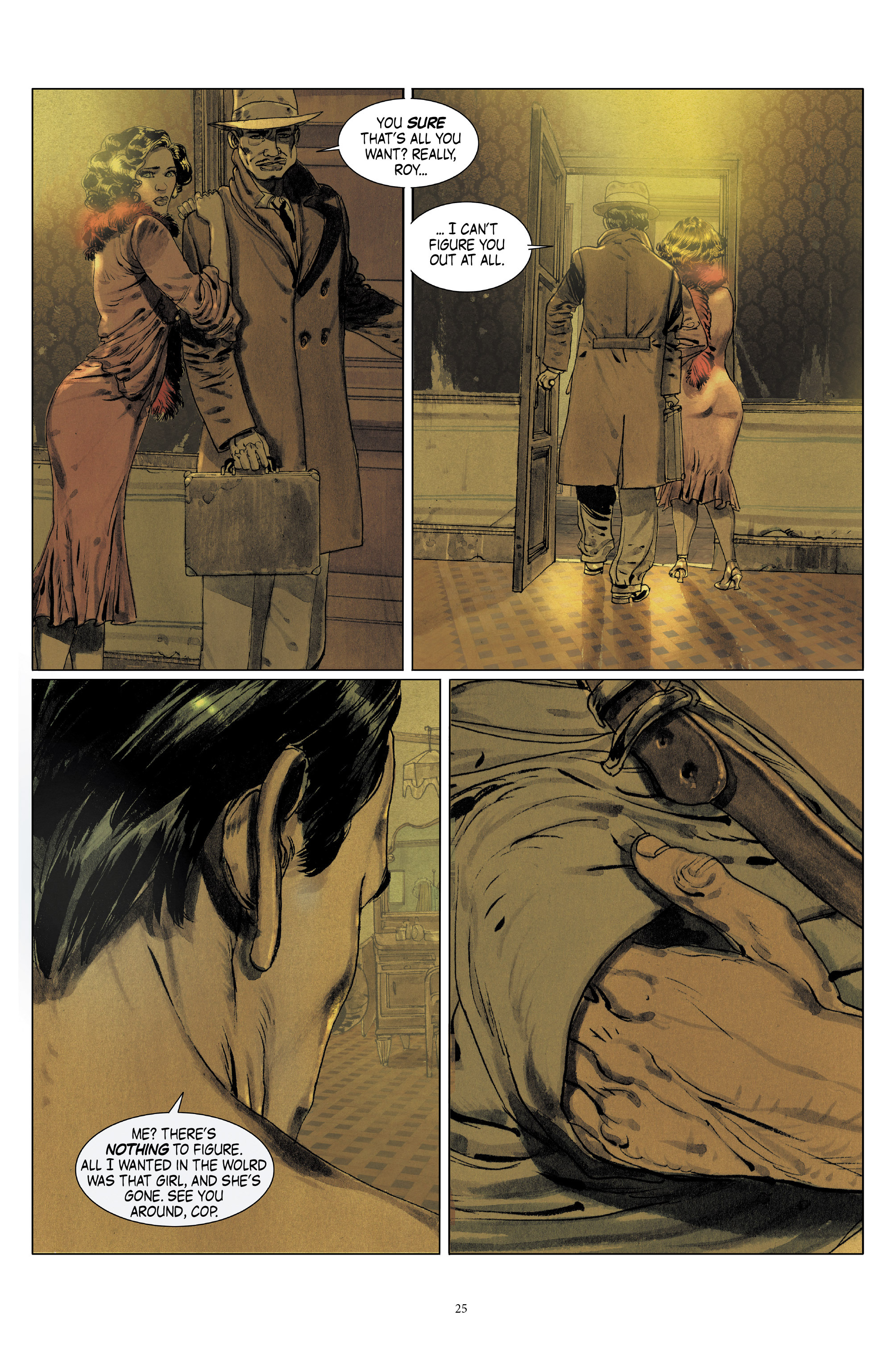 Read online Triggerman comic -  Issue #5 - 25