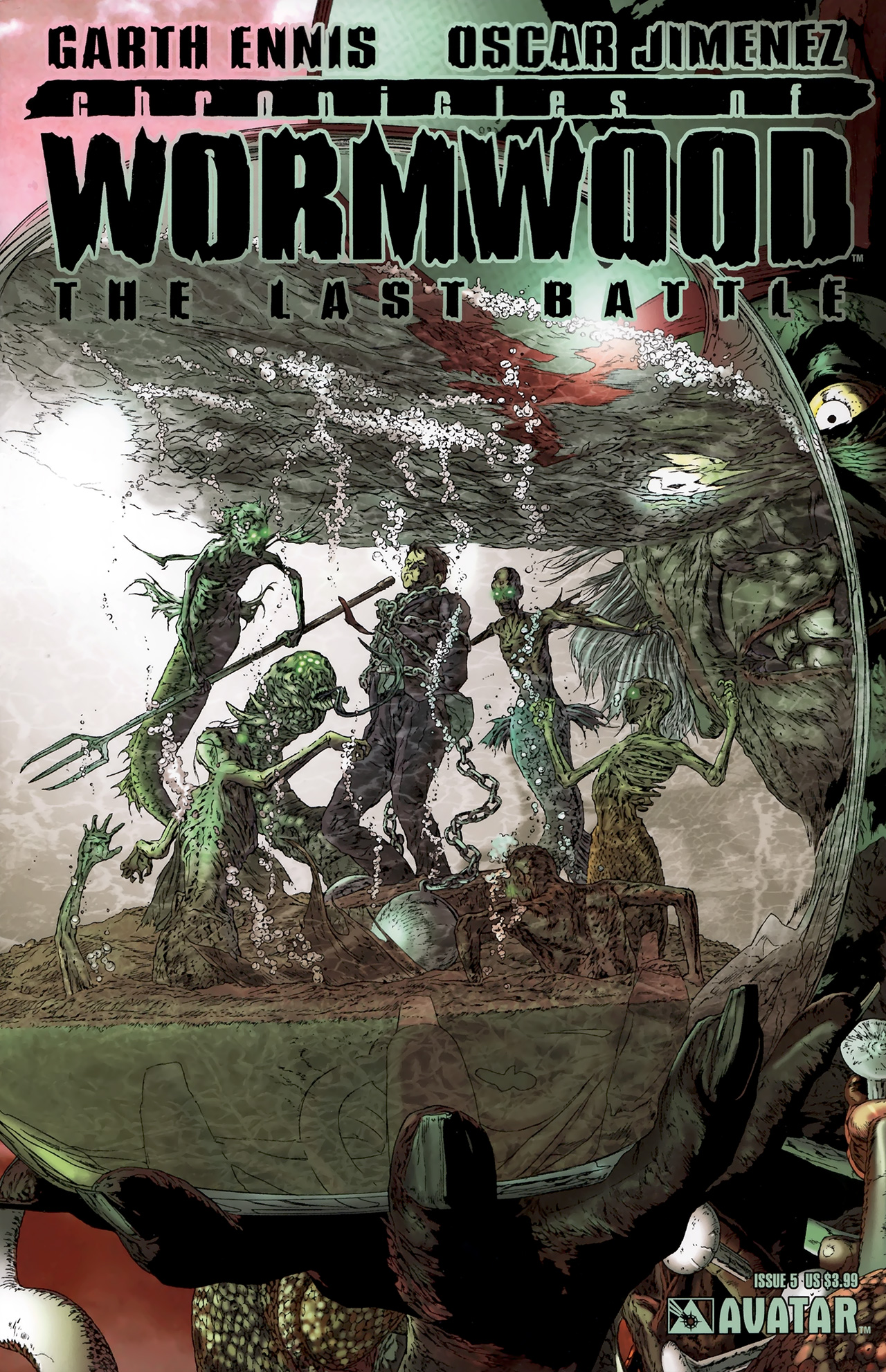 Read online Chronicles of Wormwood: The Last Battle comic -  Issue #5 - 1