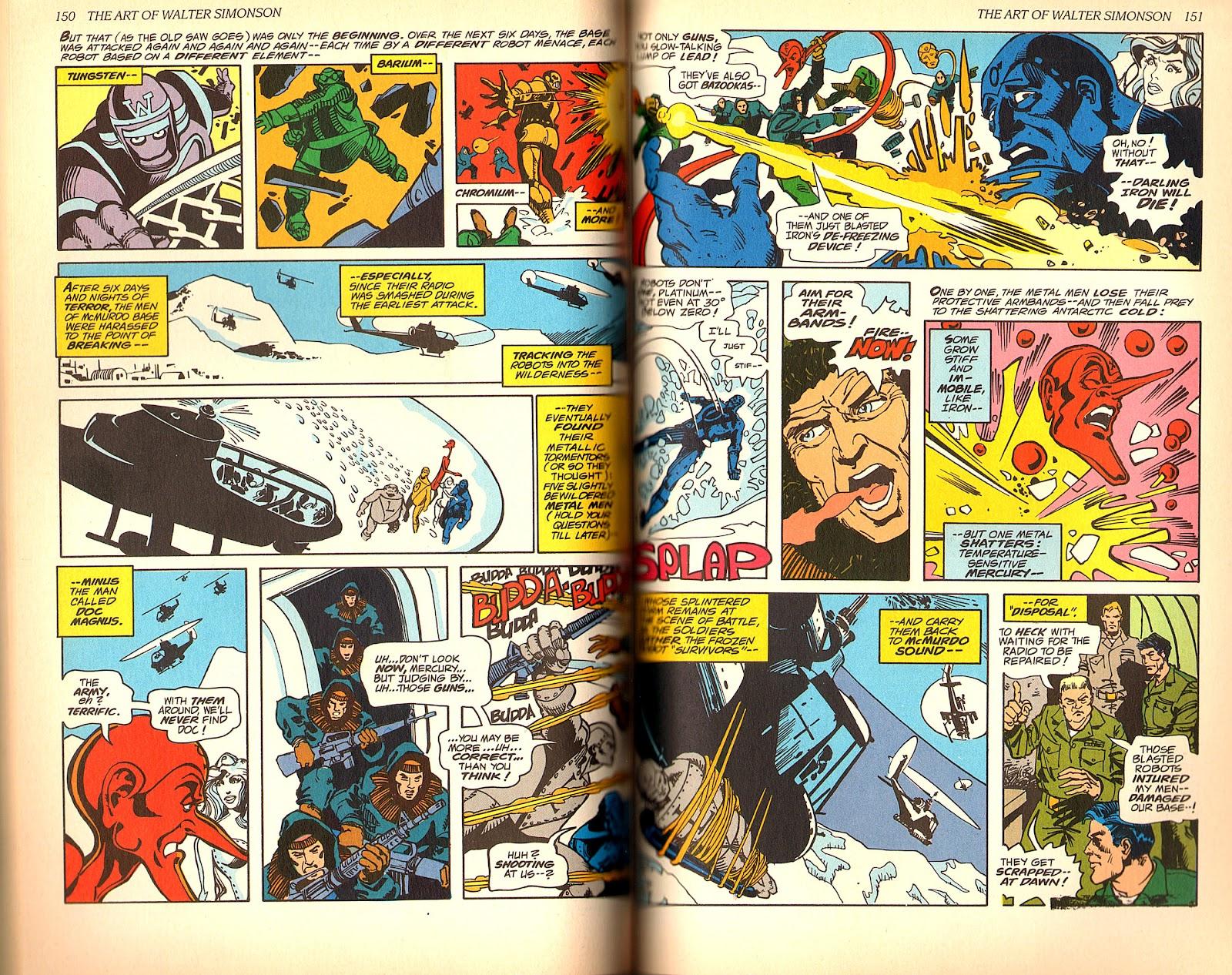Read online The Art of Walter Simonson comic -  Issue # TPB - 77