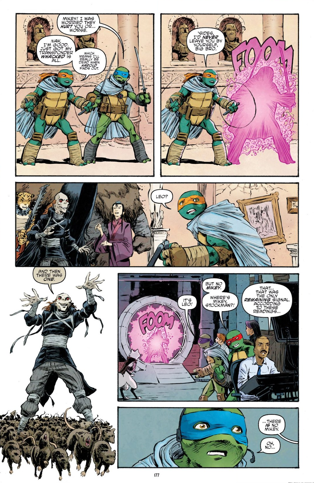 Read online Teenage Mutant Ninja Turtles: The IDW Collection comic -  Issue # TPB 9 (Part 2) - 76