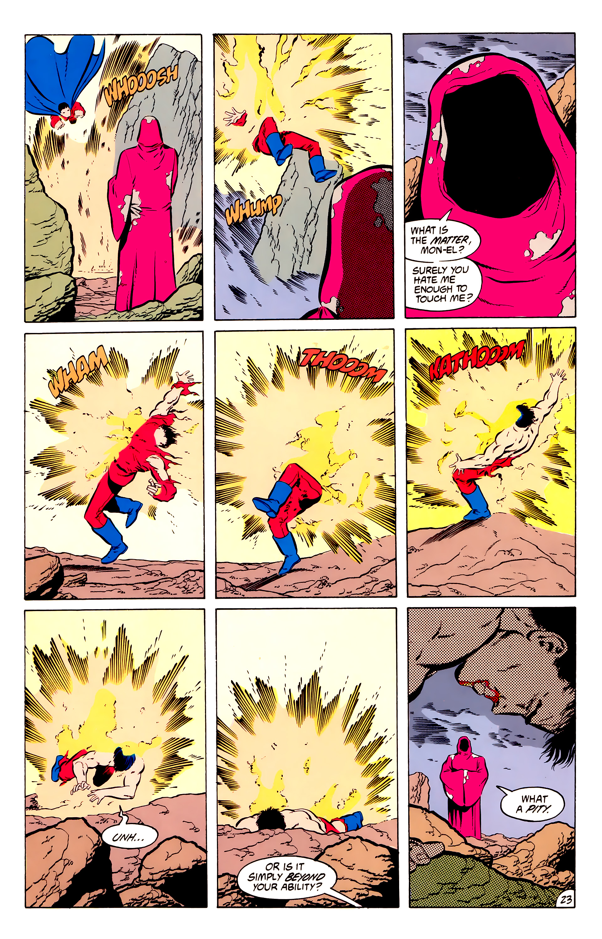 Legion of Super-Heroes (1984) 50 Page 23