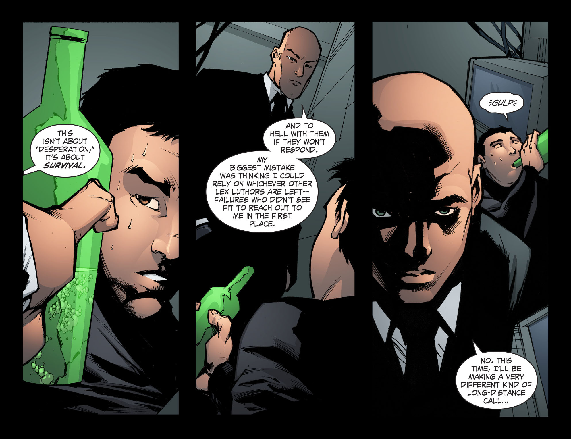 Read online Smallville: Chaos [II] comic -  Issue #6 - 6