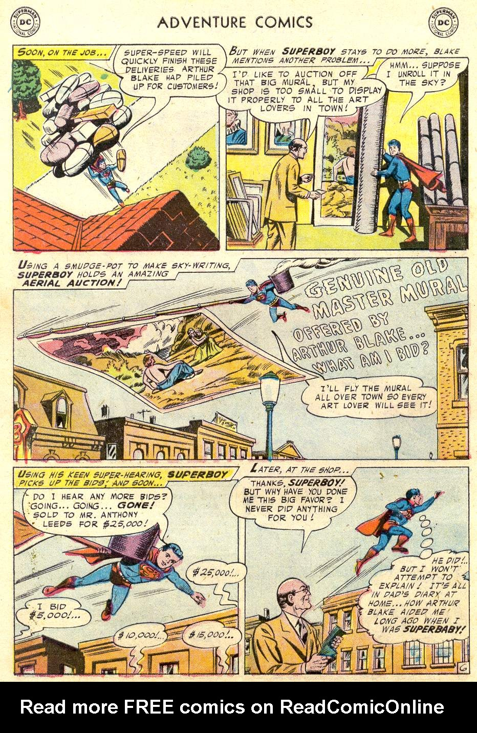 Read online Adventure Comics (1938) comic -  Issue #231 - 9