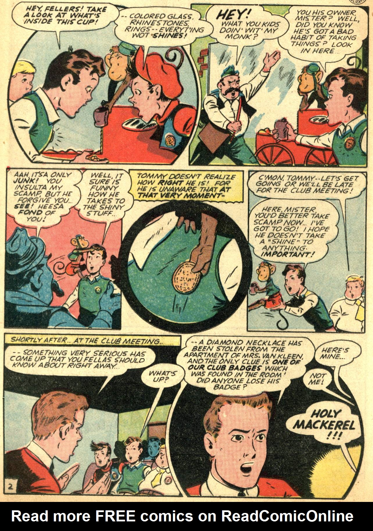 Read online Sensation (Mystery) Comics comic -  Issue #53 - 18