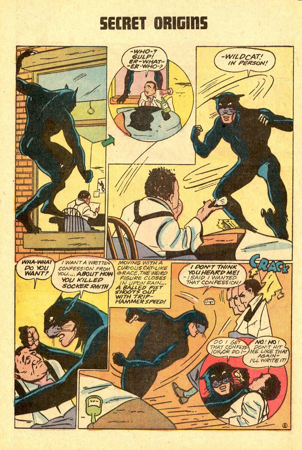 Read online Secret Origins (1973) comic -  Issue #3 - 31