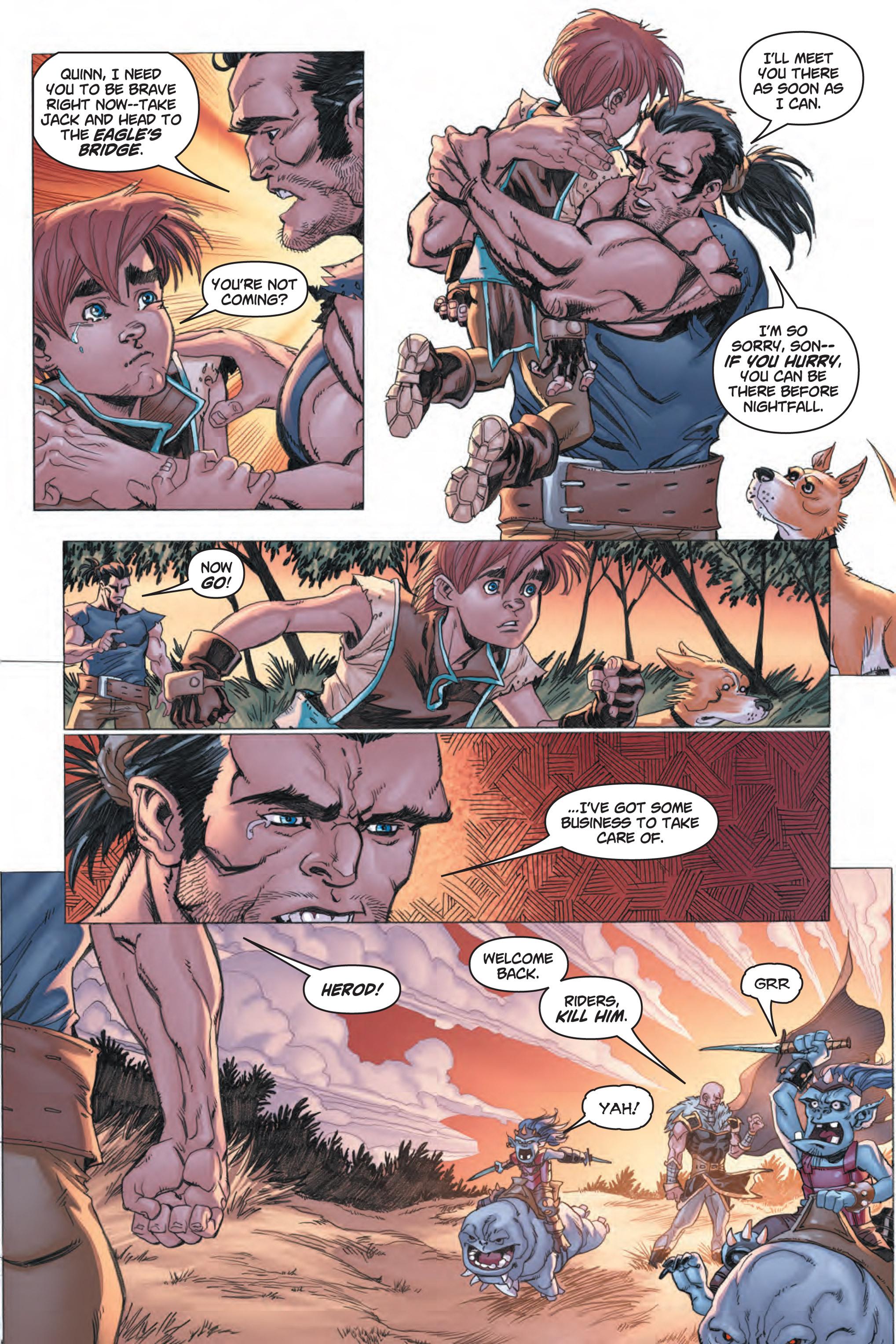 Read online Skyward comic -  Issue #1 - 22