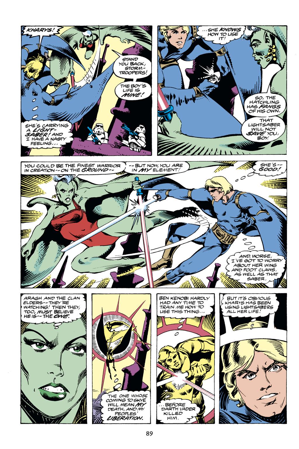 Read online Star Wars Omnibus comic -  Issue # Vol. 14 - 89