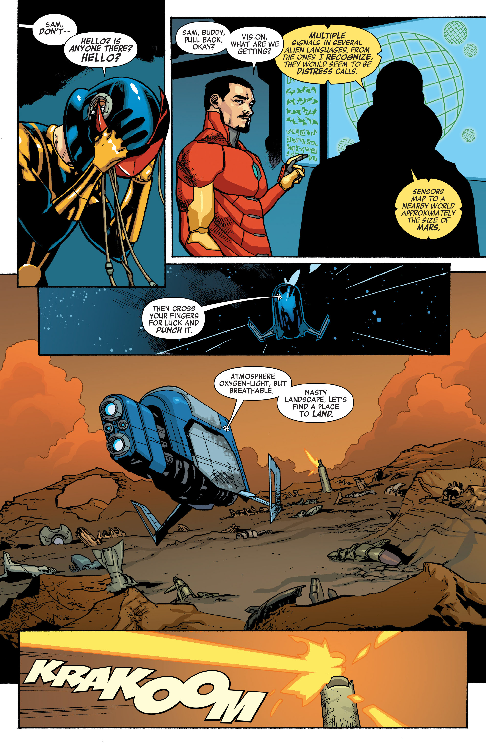 Read online All-New, All-Different Avengers comic -  Issue #10 - 7