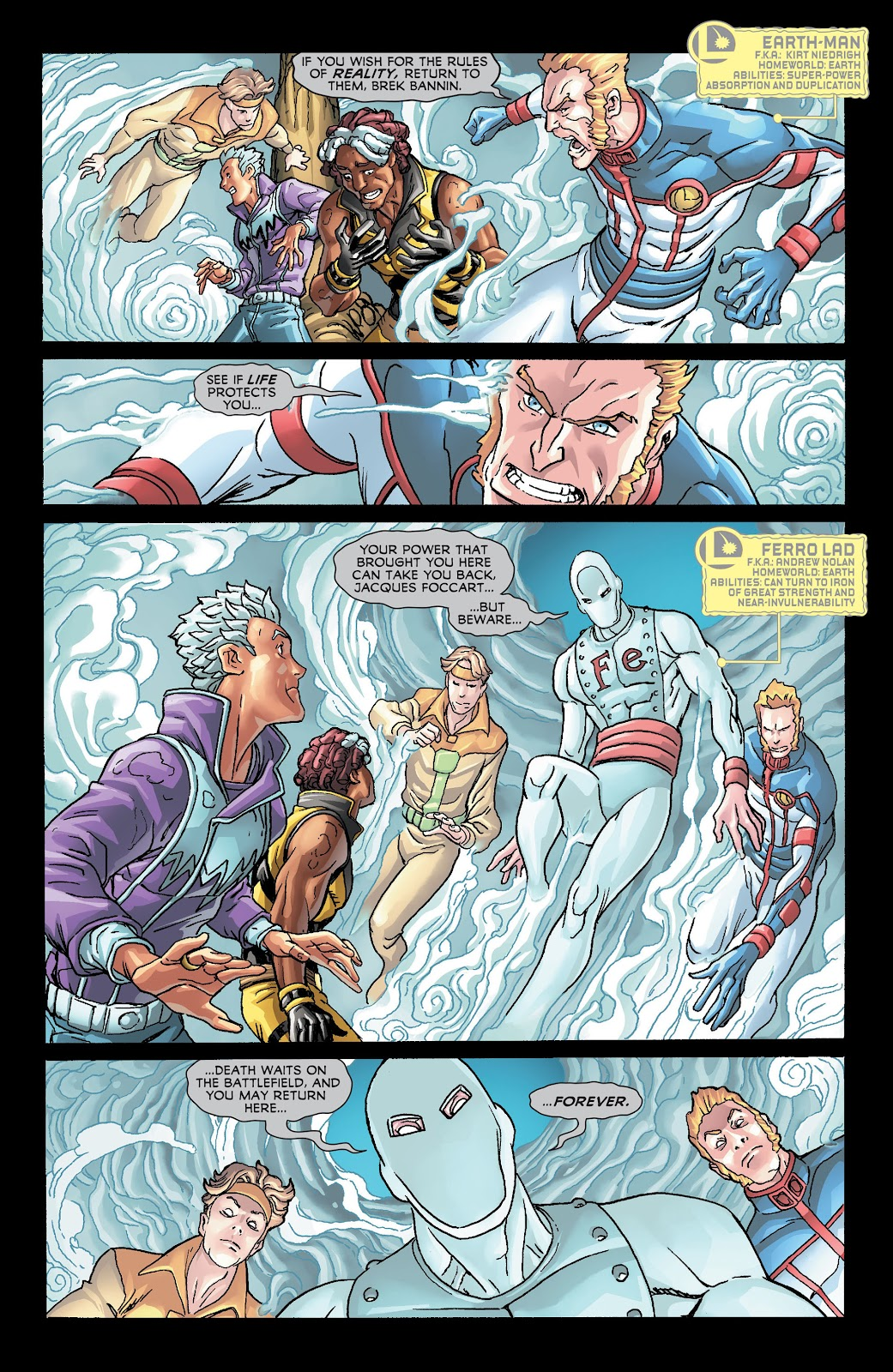 Legion of Super-Heroes (2011) Issue #21 #22 - English 11