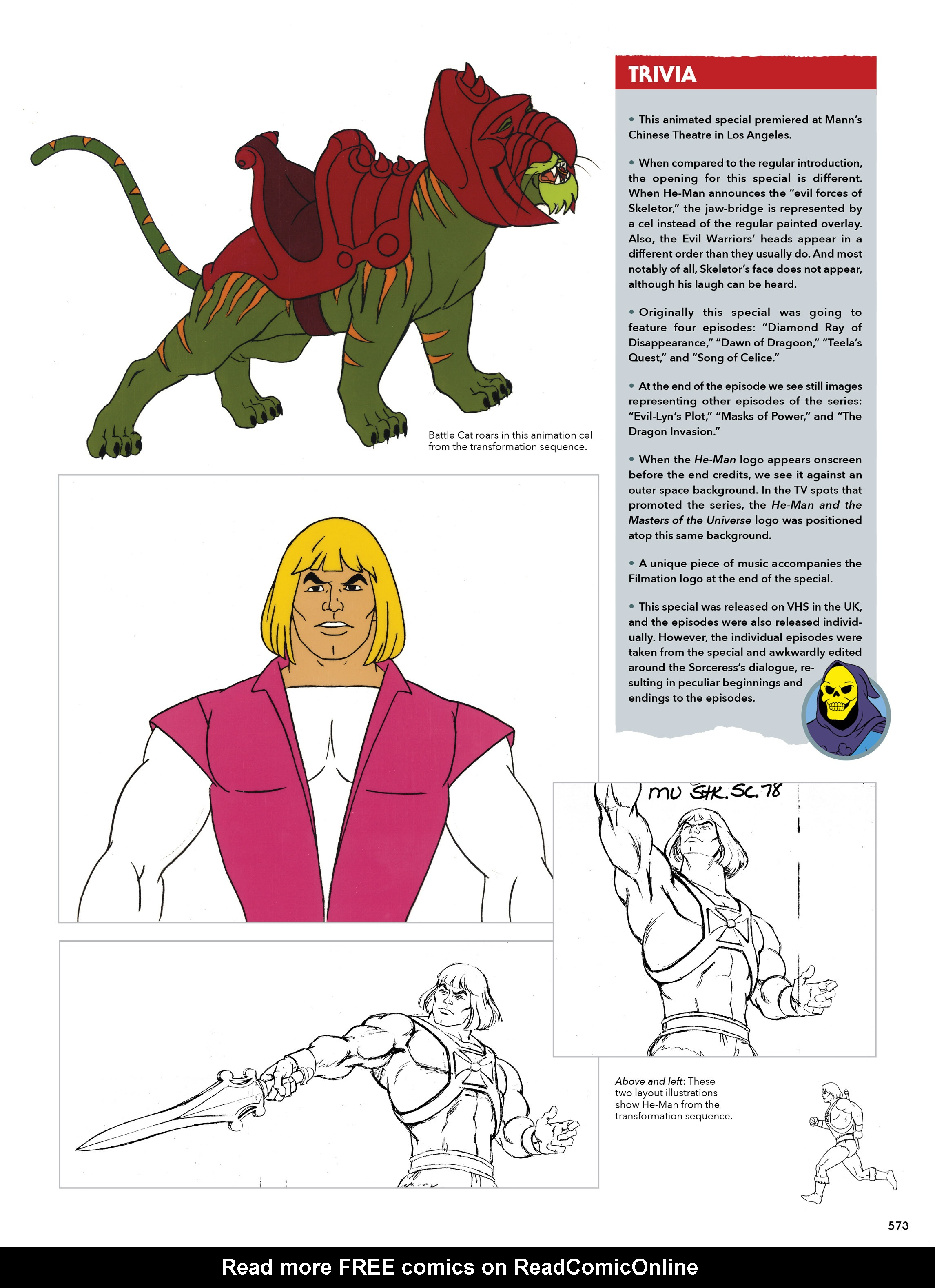 Read online He-Man and She-Ra: A Complete Guide to the Classic Animated Adventures comic -  Issue # TPB (Part 3) - 173
