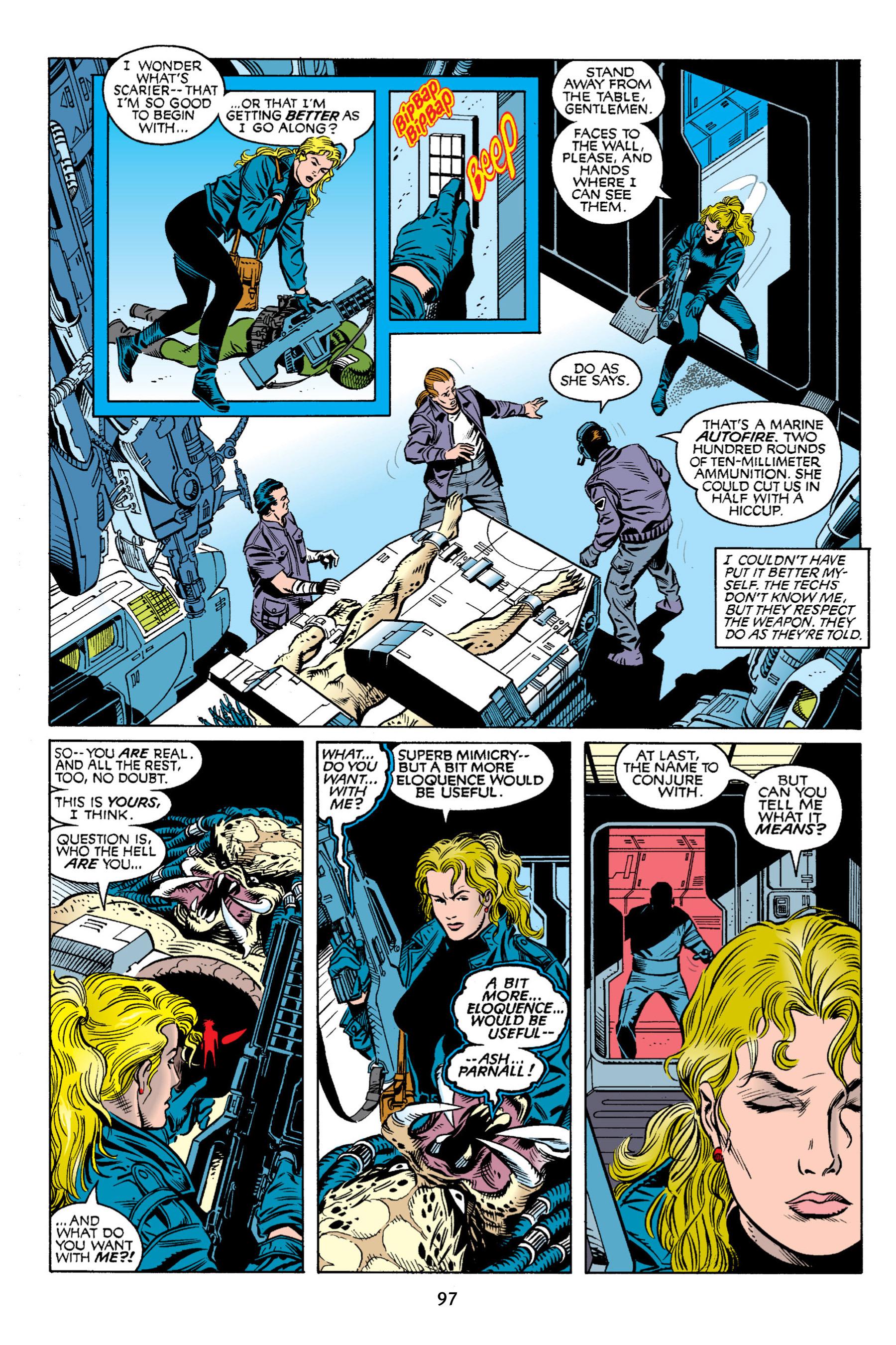 Read online Aliens vs. Predator Omnibus comic -  Issue # _TPB 2 Part 1 - 96