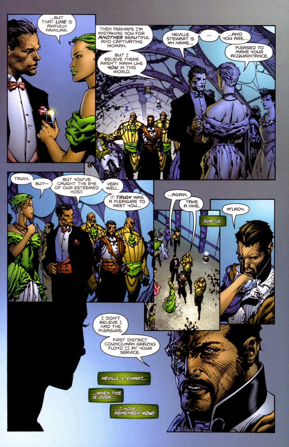 Read online Aphrodite IX (2000) comic -  Issue #1 - 18