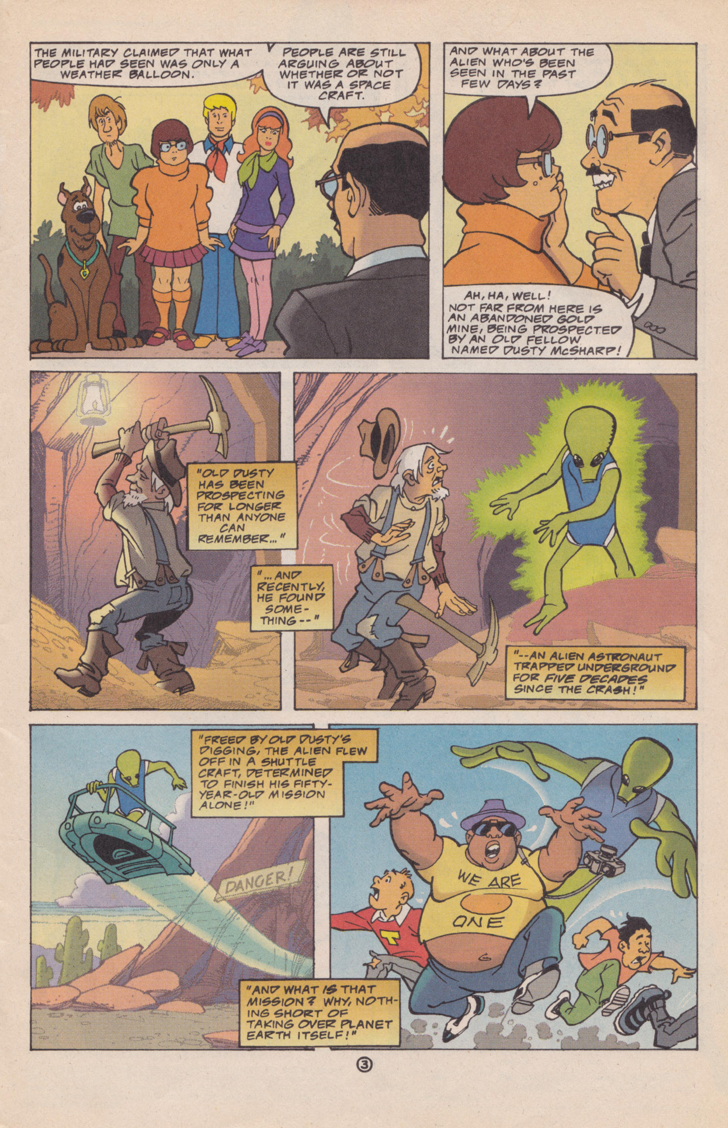 Read online Scooby-Doo (1997) comic -  Issue #2 - 4