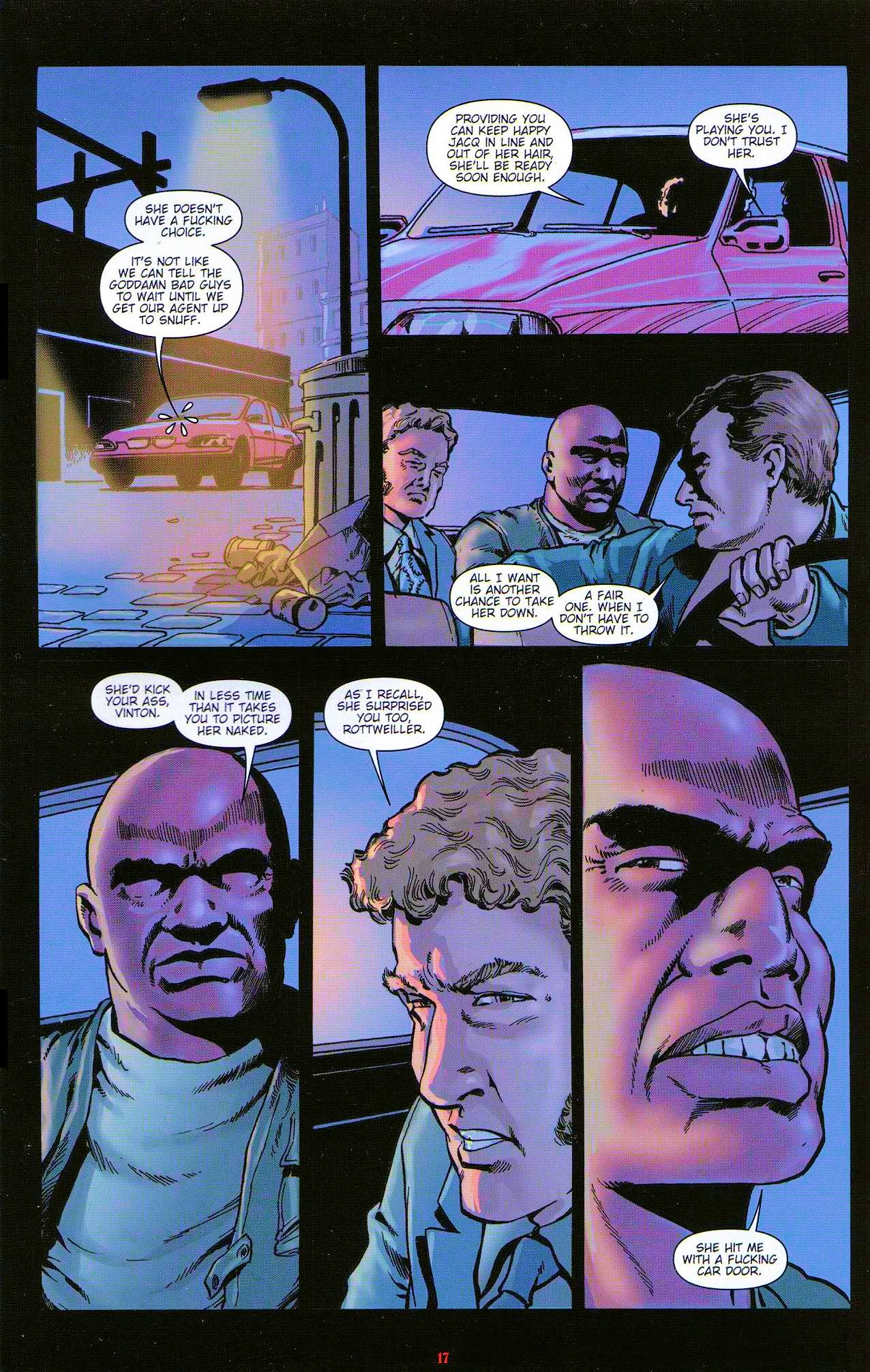Read online Dominatrix comic -  Issue #5 - 19