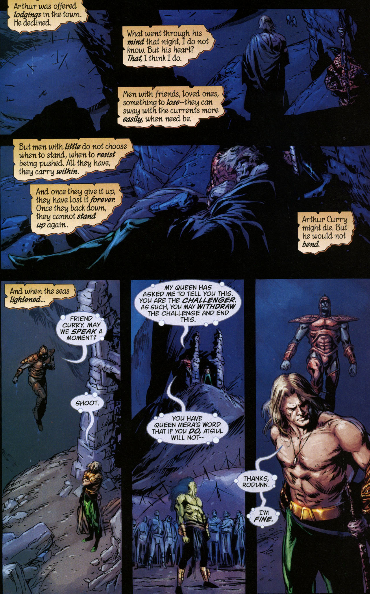 Read online Aquaman: Sword of Atlantis comic -  Issue #41 - 17