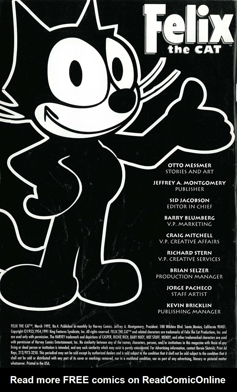 Read online Felix the Cat comic -  Issue #4 - 2