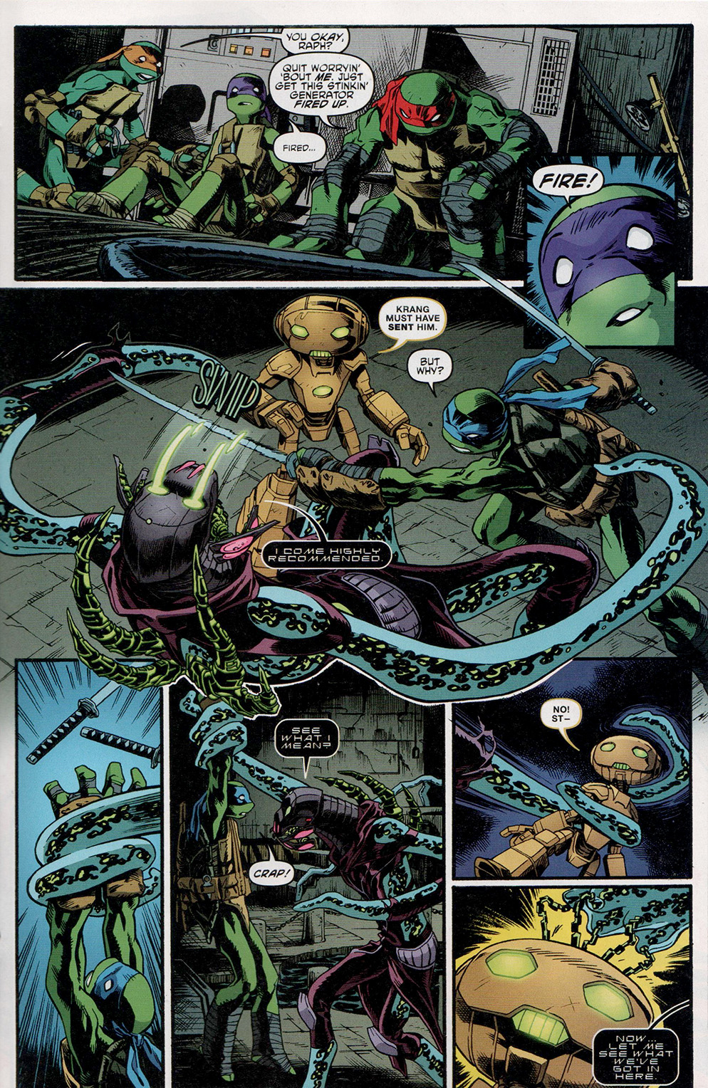 Read online Free Comic Book Day 2017 comic -  Issue # Teenage Mutant Ninja Turtles - 19