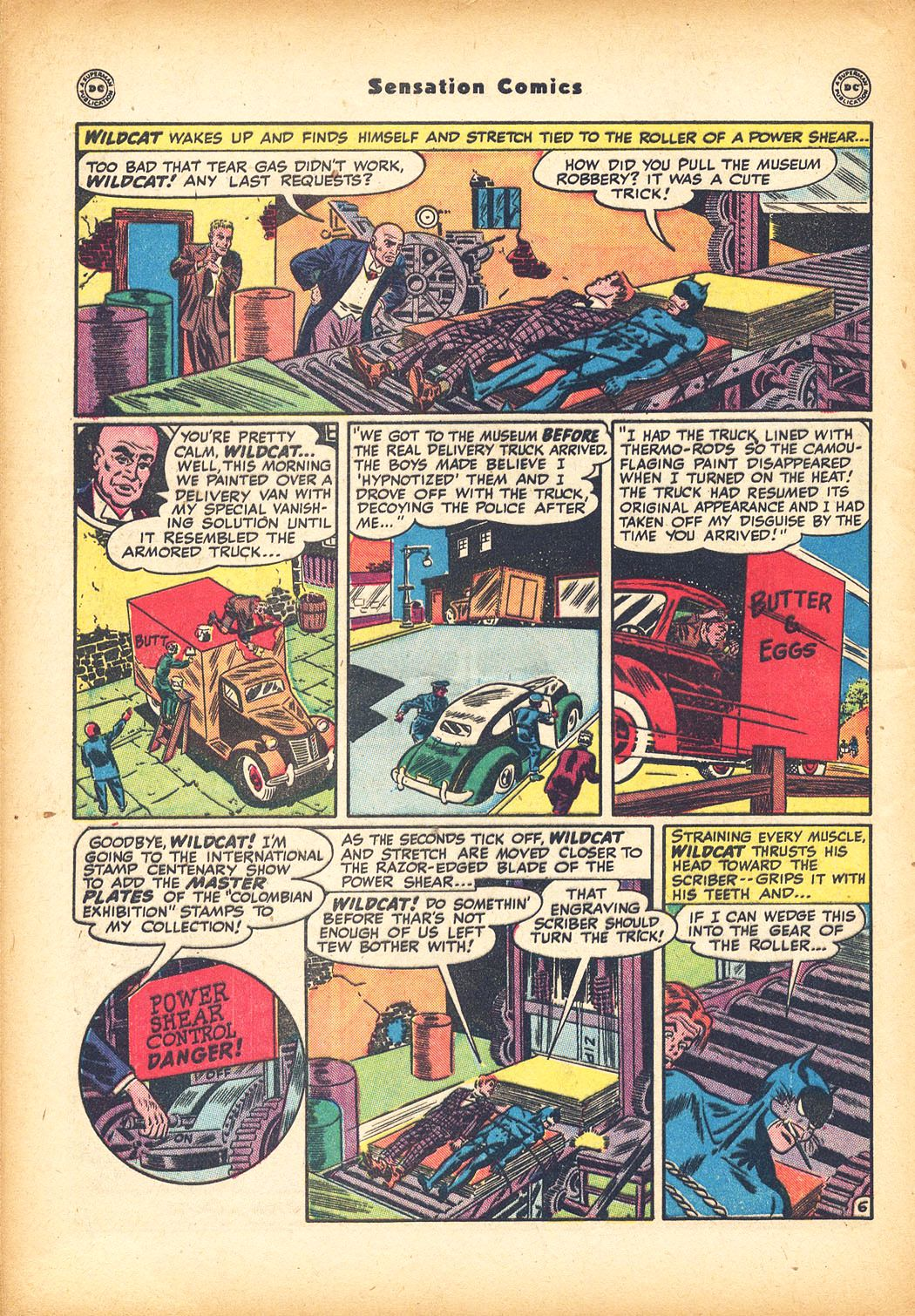 Read online Sensation (Mystery) Comics comic -  Issue #78 - 48