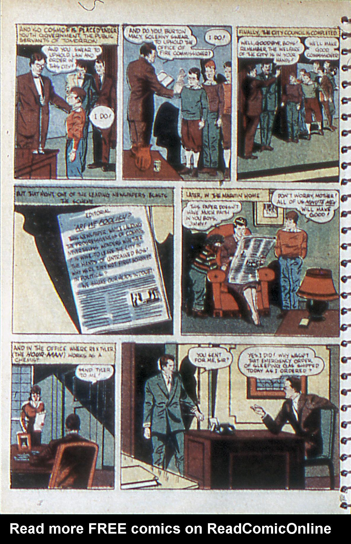 Read online Adventure Comics (1938) comic -  Issue #55 - 5