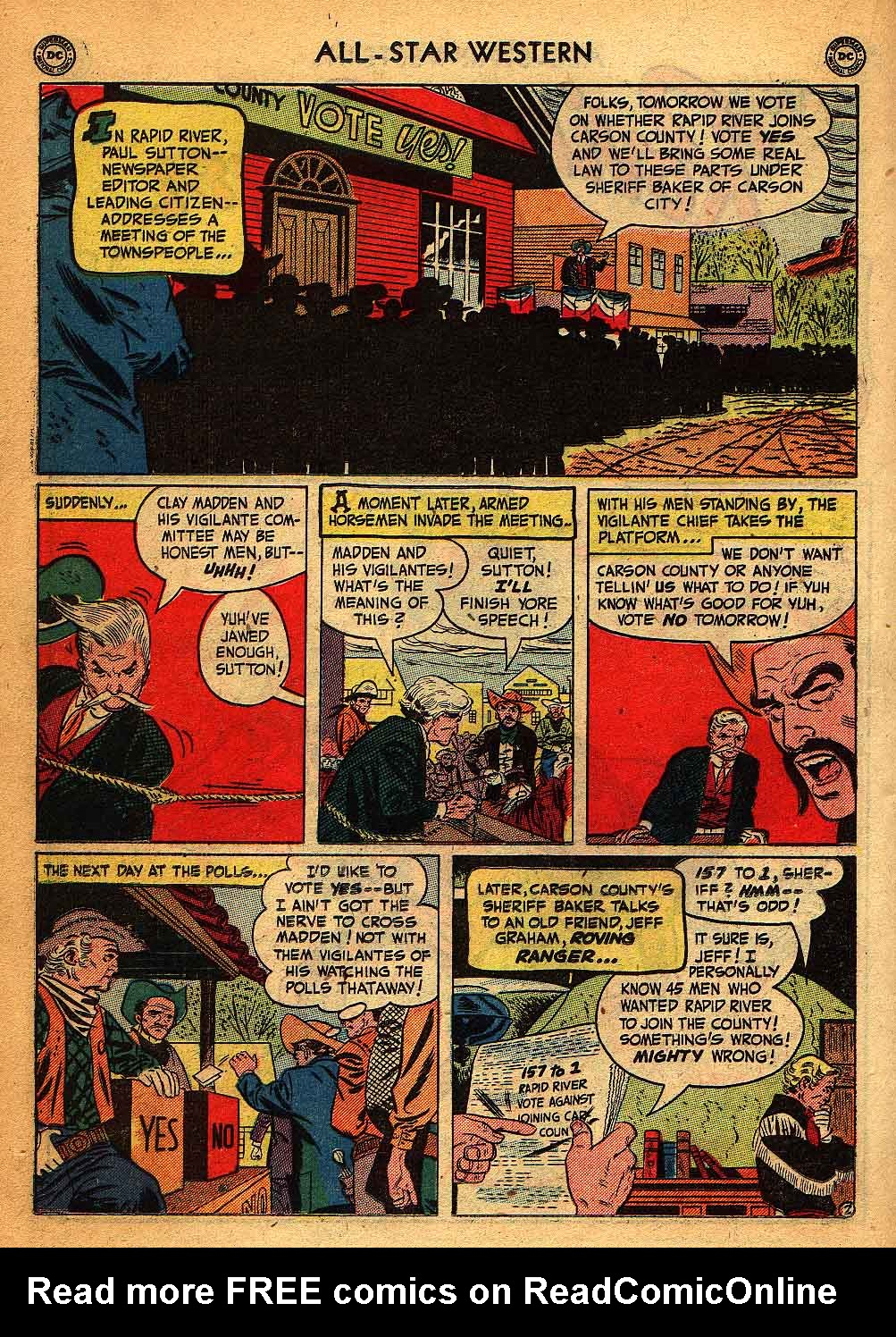Read online All-Star Western (1951) comic -  Issue #58 - 26