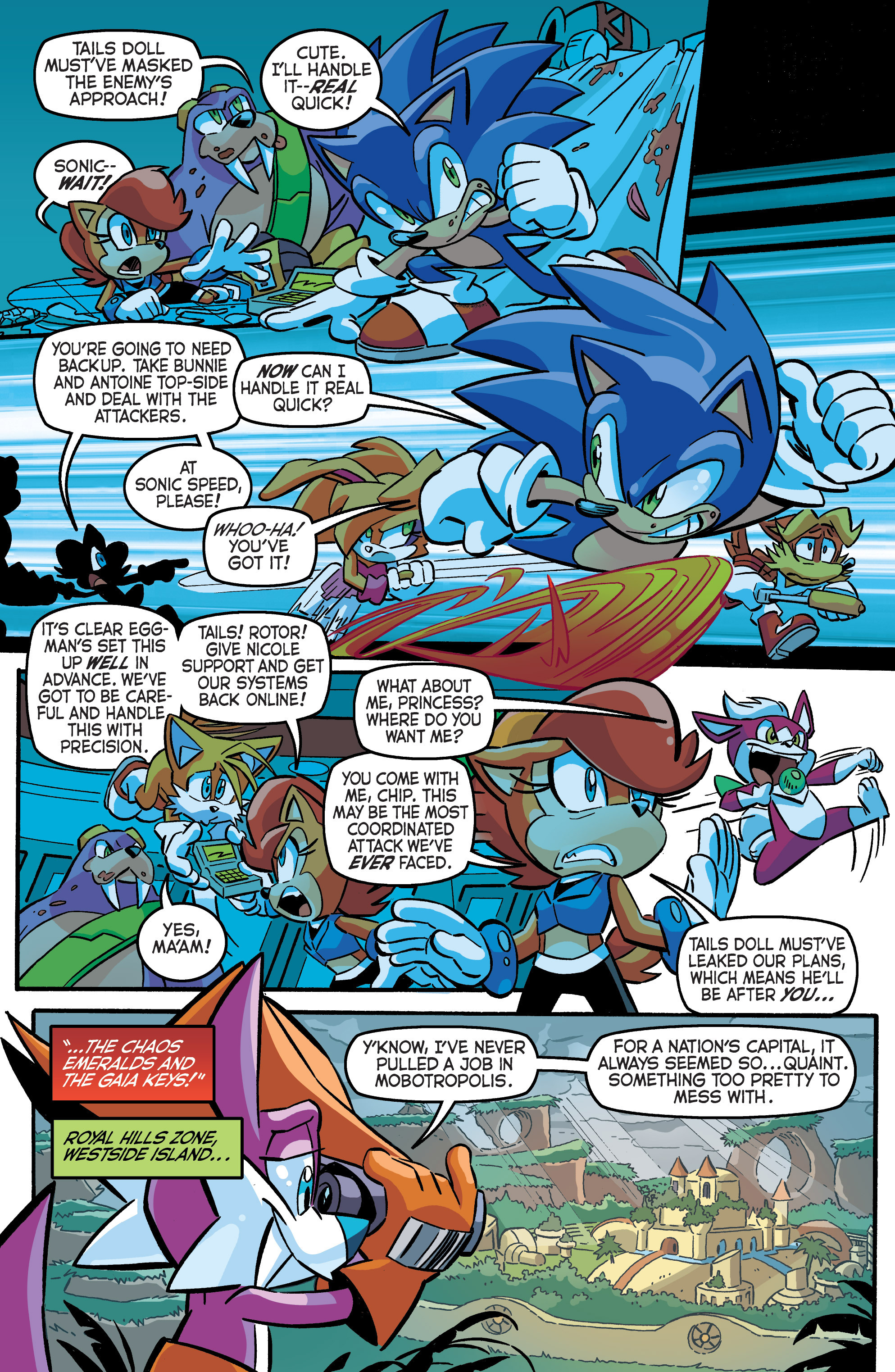 Read online Sonic The Hedgehog comic -  Issue #284 - 7