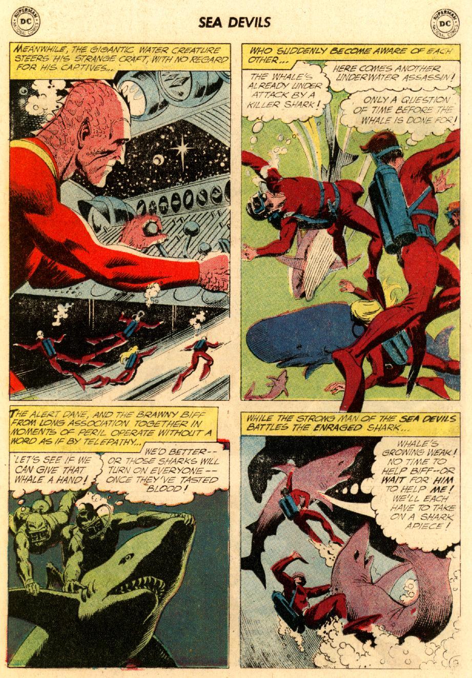 Read online Sea Devils comic -  Issue #5 - 14