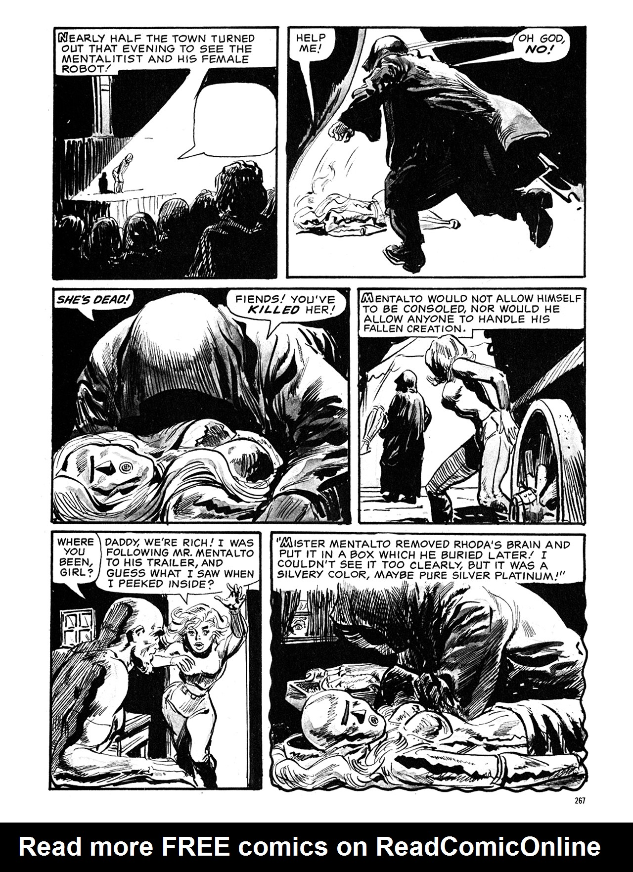 Read online Eerie Archives comic -  Issue # TPB 5 - 268