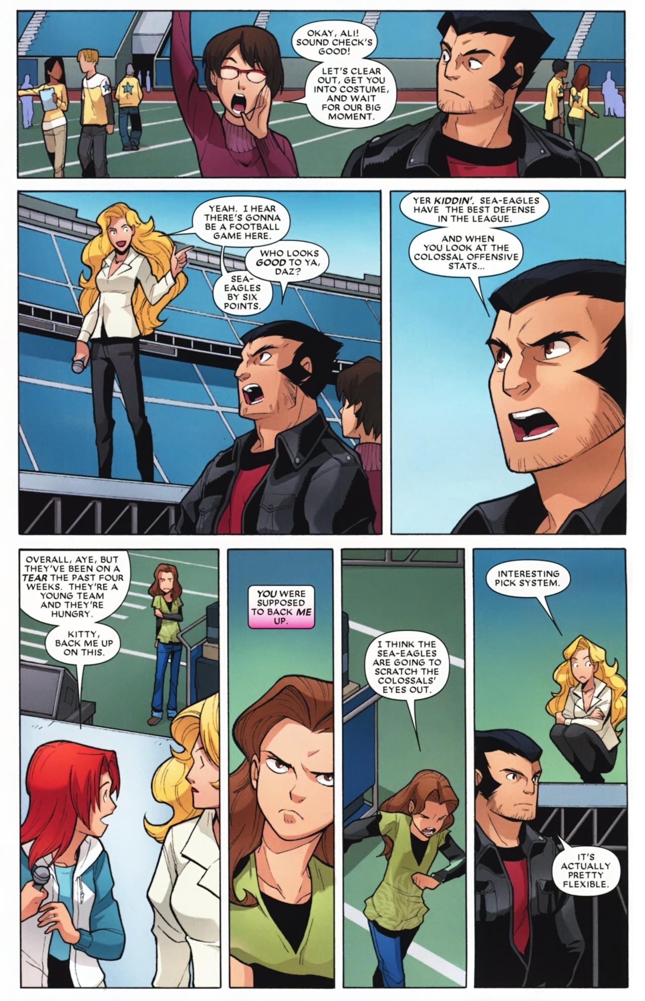 Read online Wolverine: First Class comic -  Issue #16 - 13