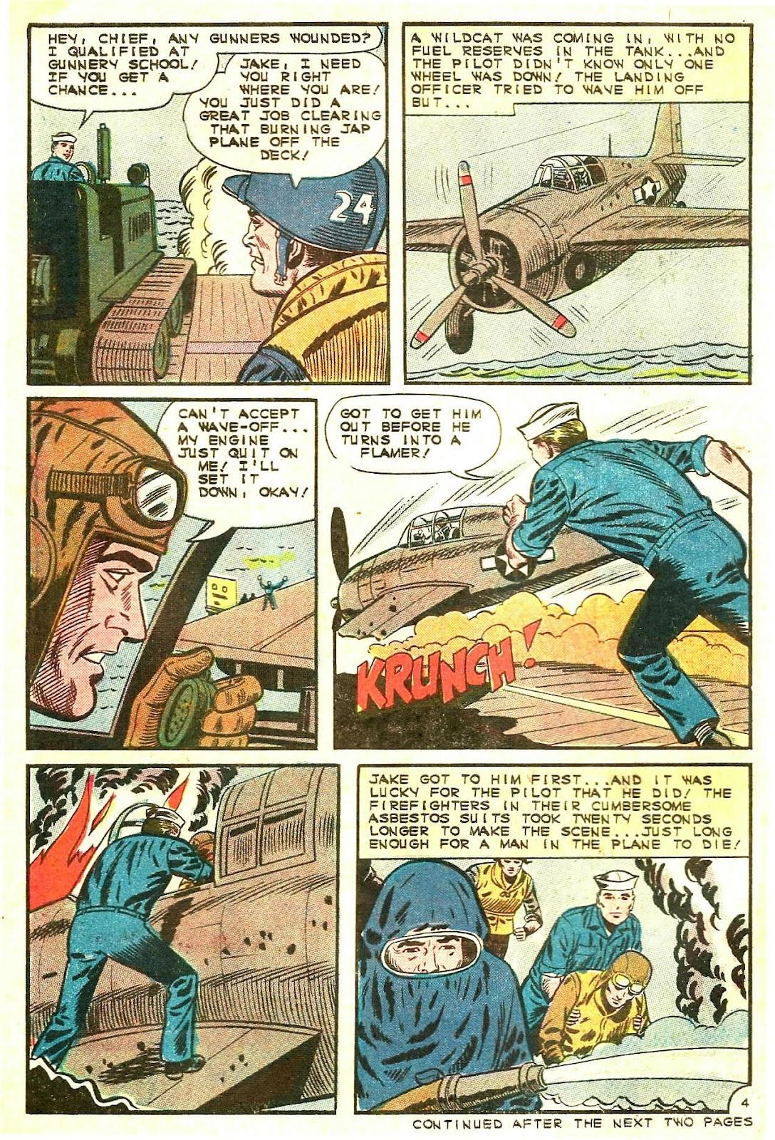 Read online Fightin' Navy comic -  Issue #125 - 6