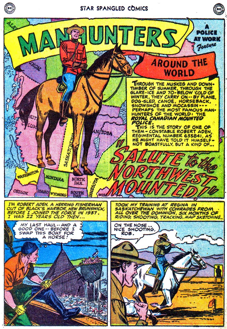 Star Spangled Comics (1941) issue 95 - Page 17