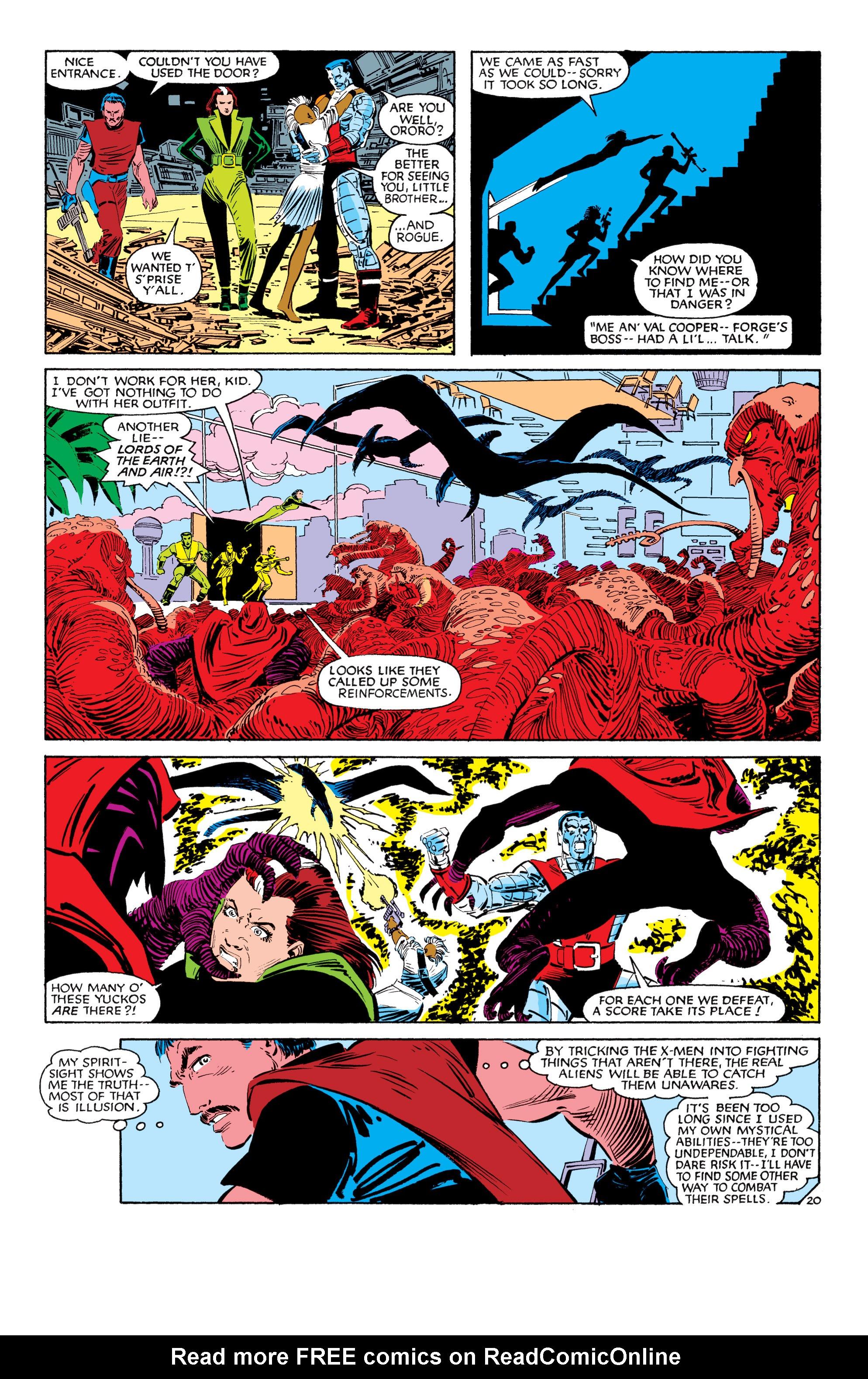 Read online Uncanny X-Men (1963) comic -  Issue #187 - 21