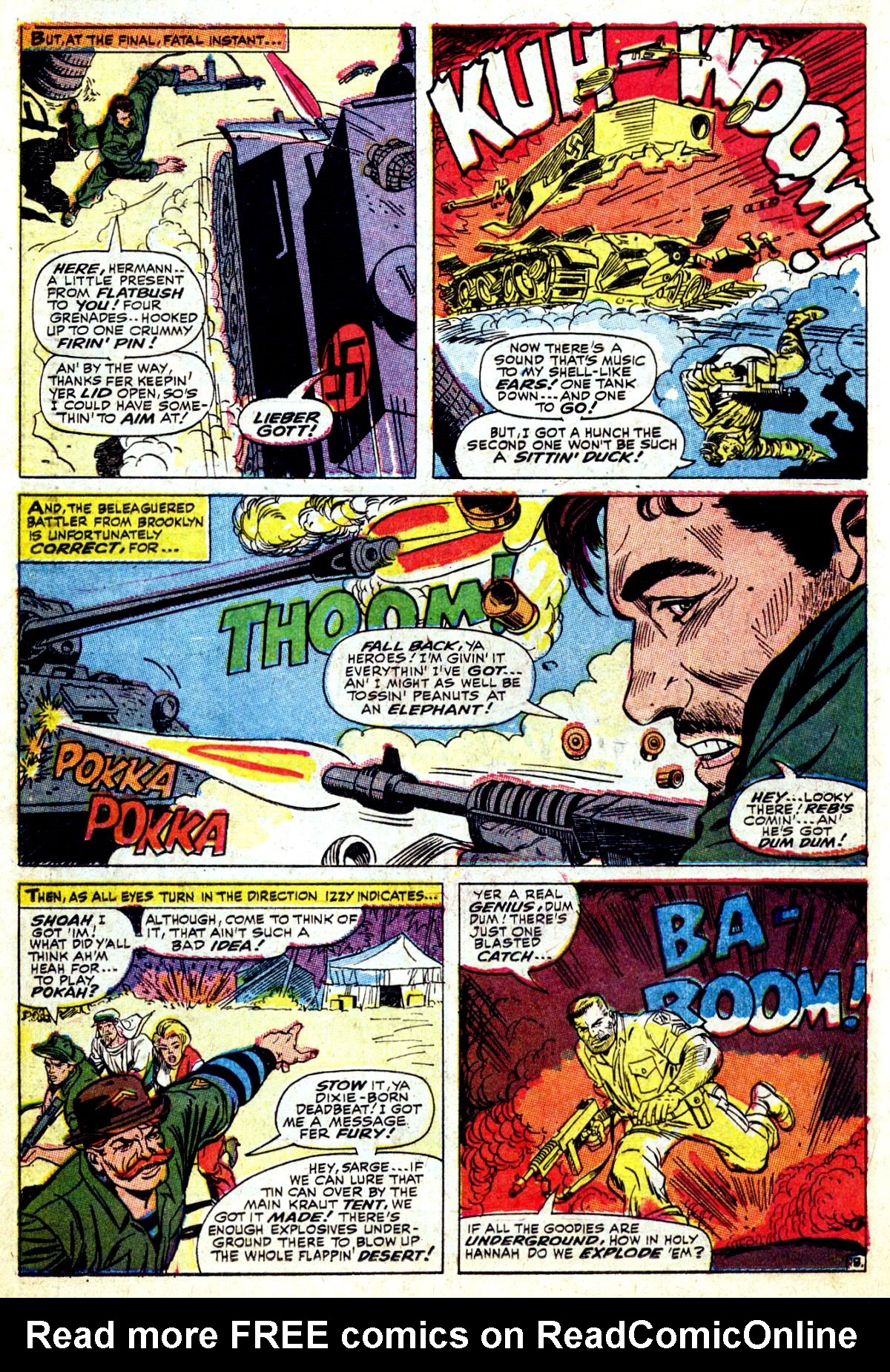 Read online Sgt. Fury comic -  Issue #37 - 26