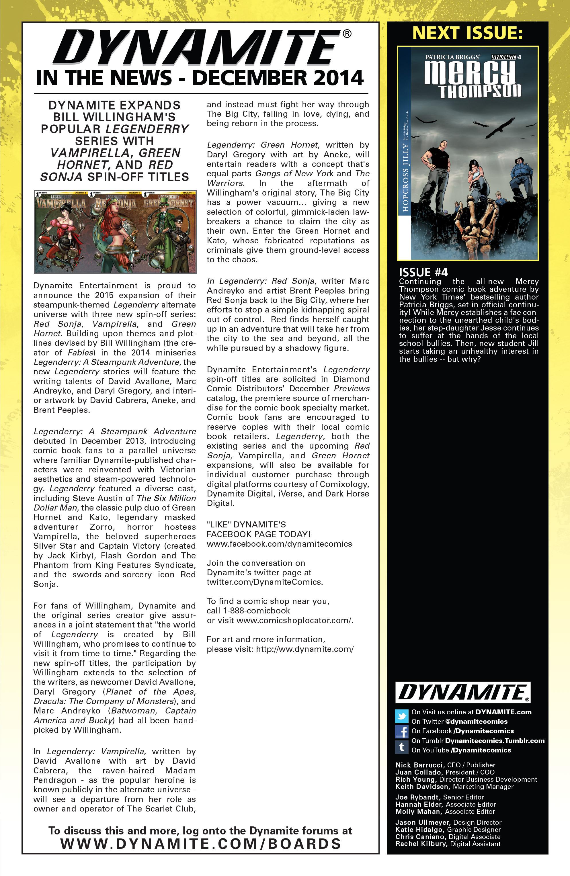 Read online Mercy Thompson comic -  Issue #3 - 25