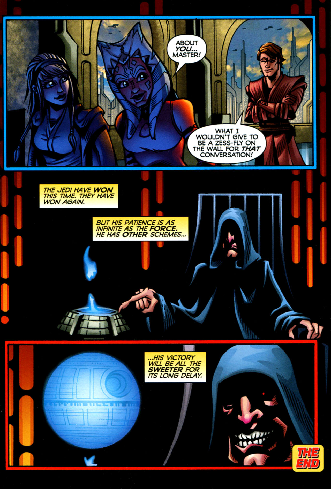 Read online Star Wars: The Clone Wars - The Starcrusher Trap comic -  Issue # Full - 77
