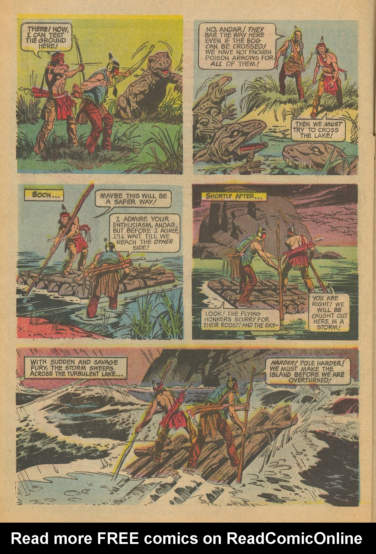 Read online Turok, Son of Stone comic -  Issue #60 - 4