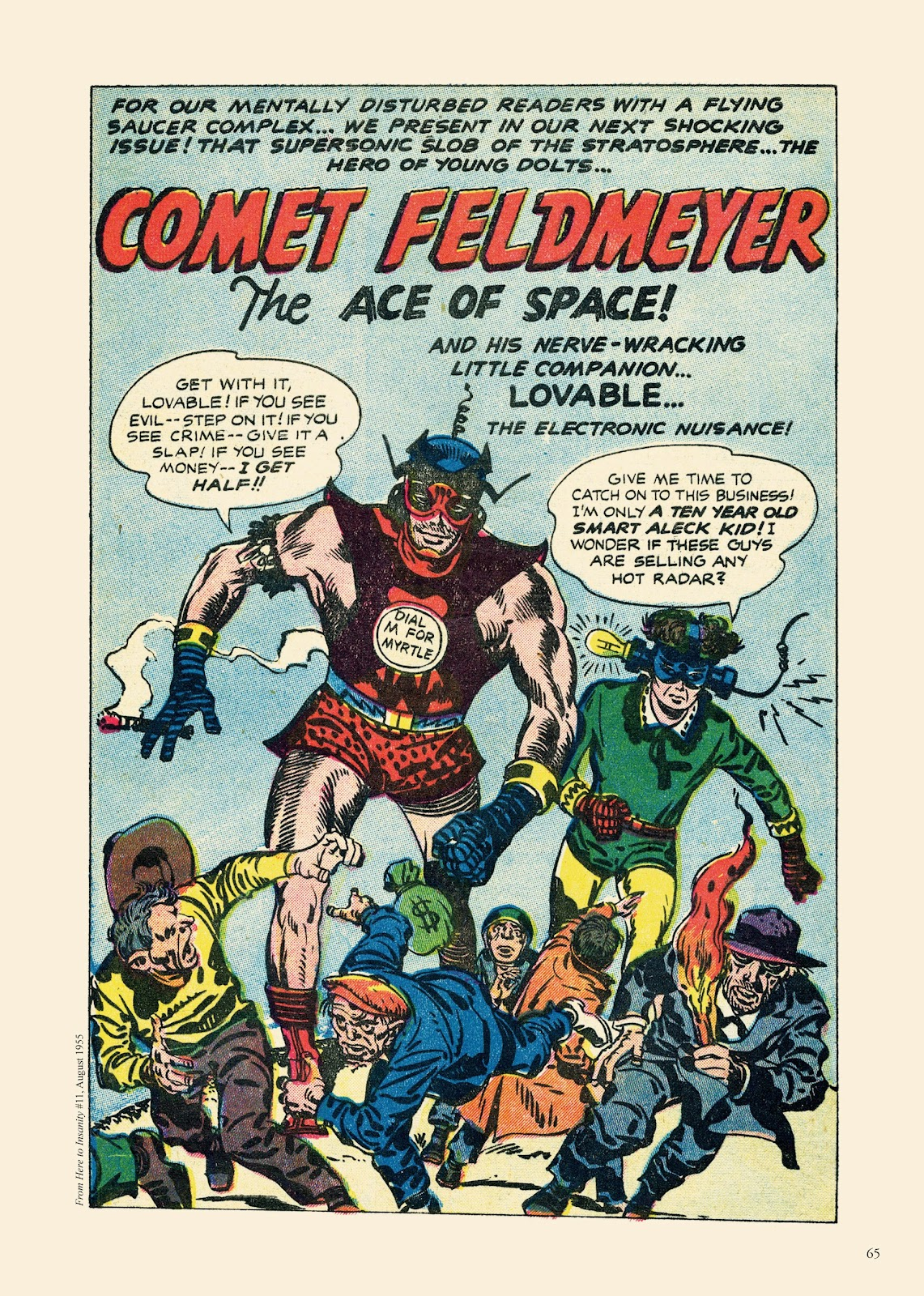 Read online Sincerest Form of Parody: The Best 1950s MAD-Inspired Satirical Comics comic -  Issue # TPB (Part 1) - 66