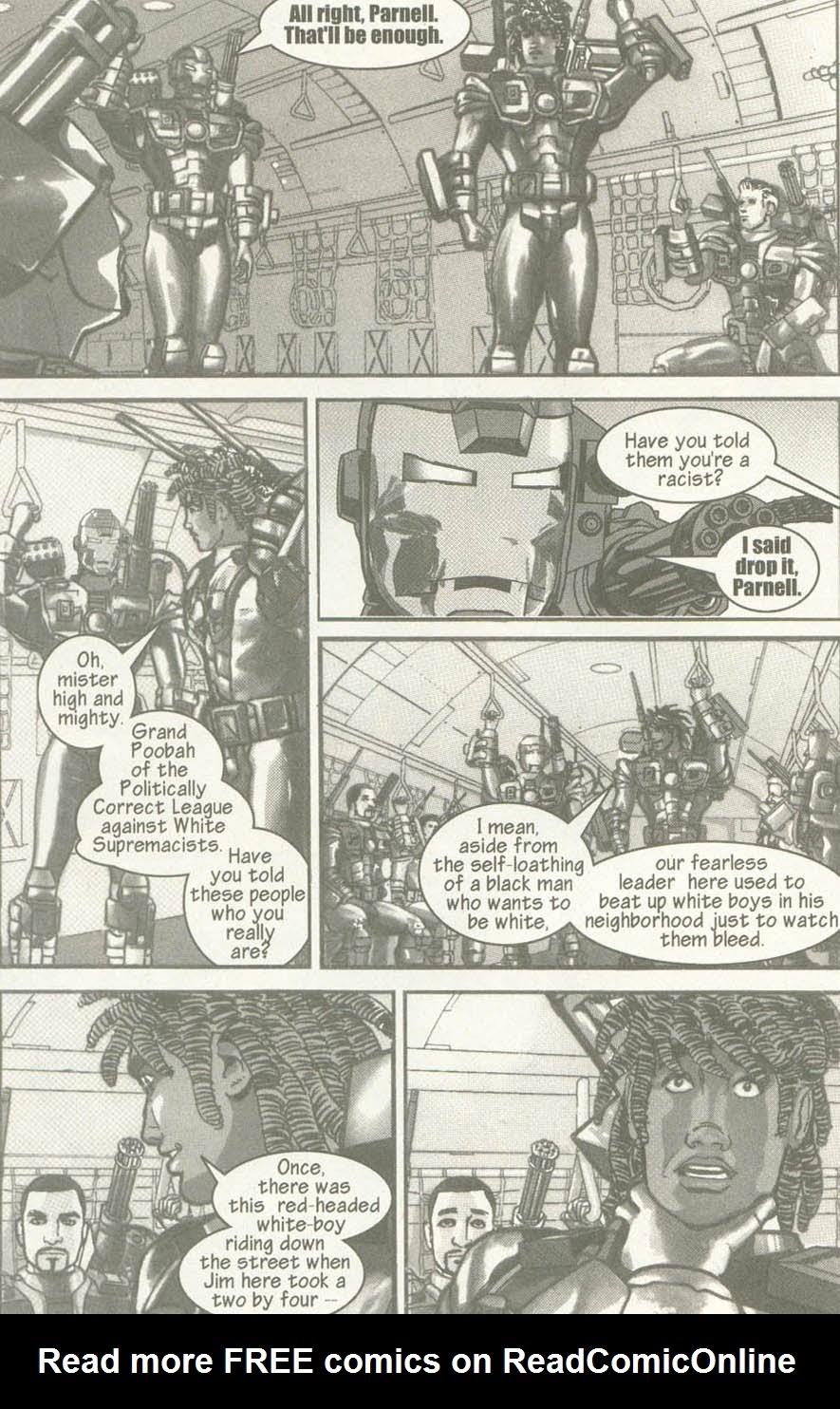Read online U.S. War Machine comic -  Issue #6 - 7