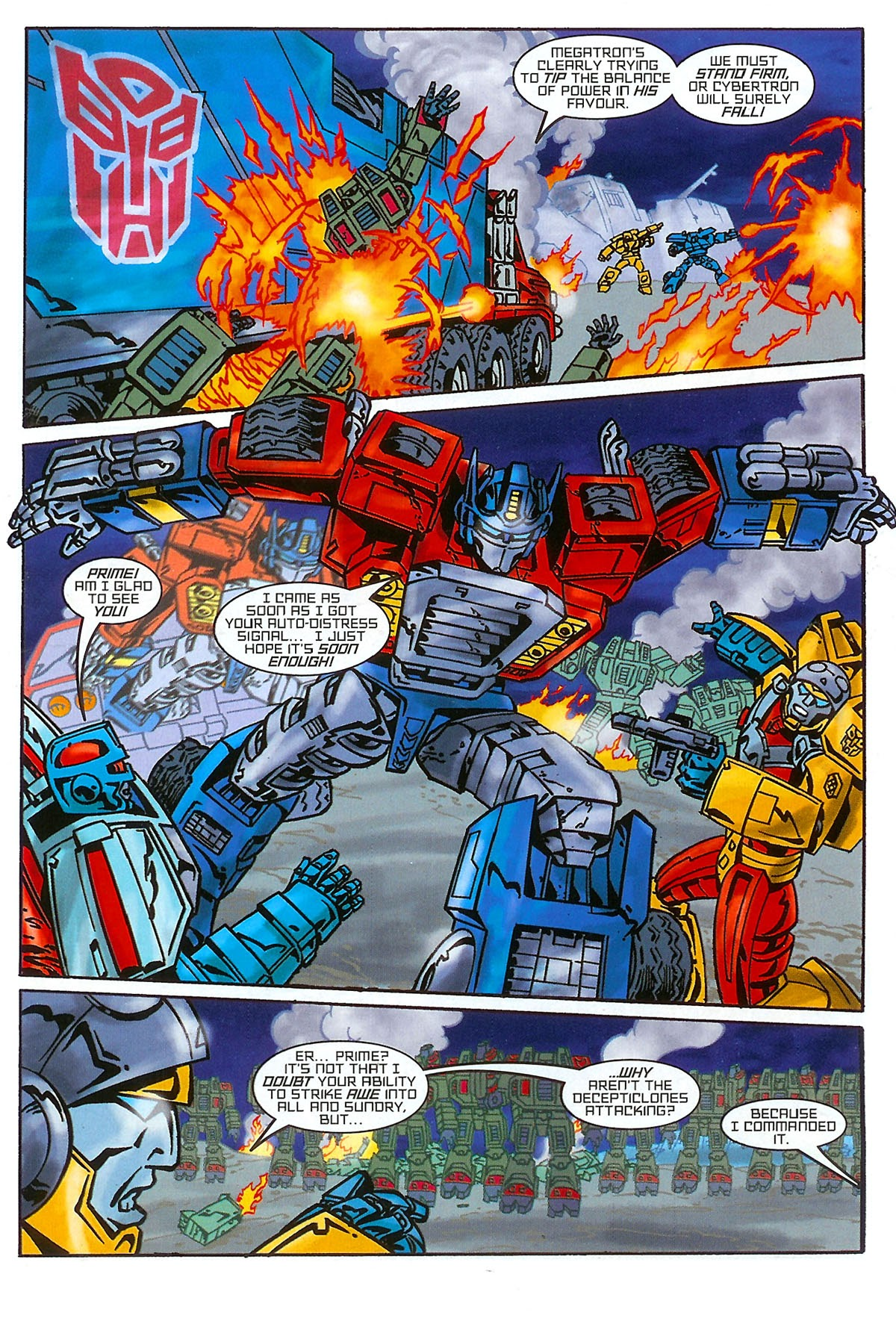 Read online Transformers: The Balance of Power comic -  Issue # Full - 11