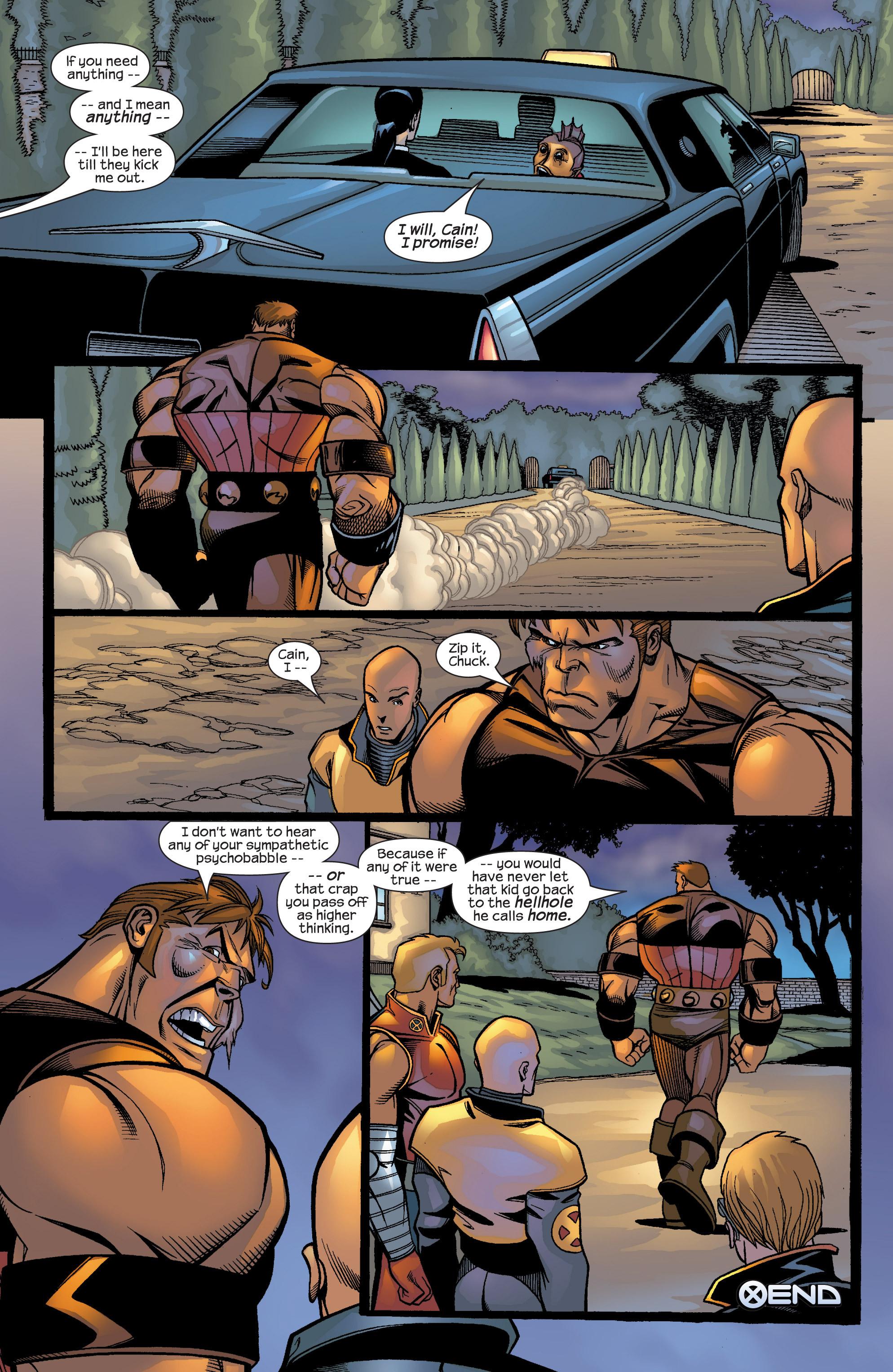 Read online Uncanny X-Men (1963) comic -  Issue #422 - 36