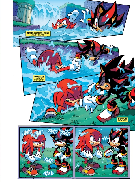 Read online Sonic Comics Spectacular: Speed of Sound comic -  Issue # Full - 235