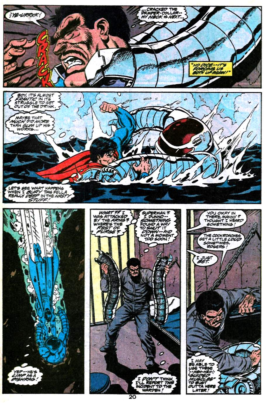 Read online Adventures of Superman (1987) comic -  Issue #486 - 21
