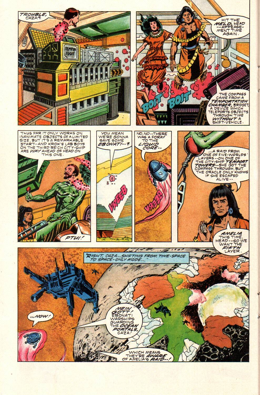Read online Aztec Ace comic -  Issue #9 - 22