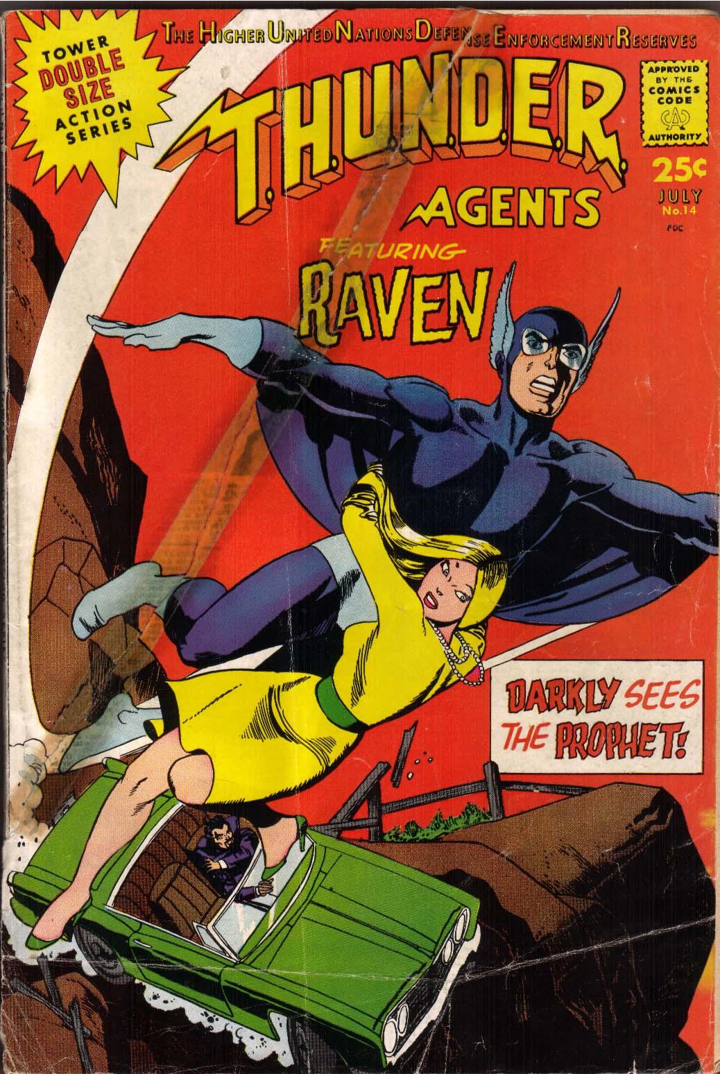 T.H.U.N.D.E.R. Agents (1965) 14 Page 1