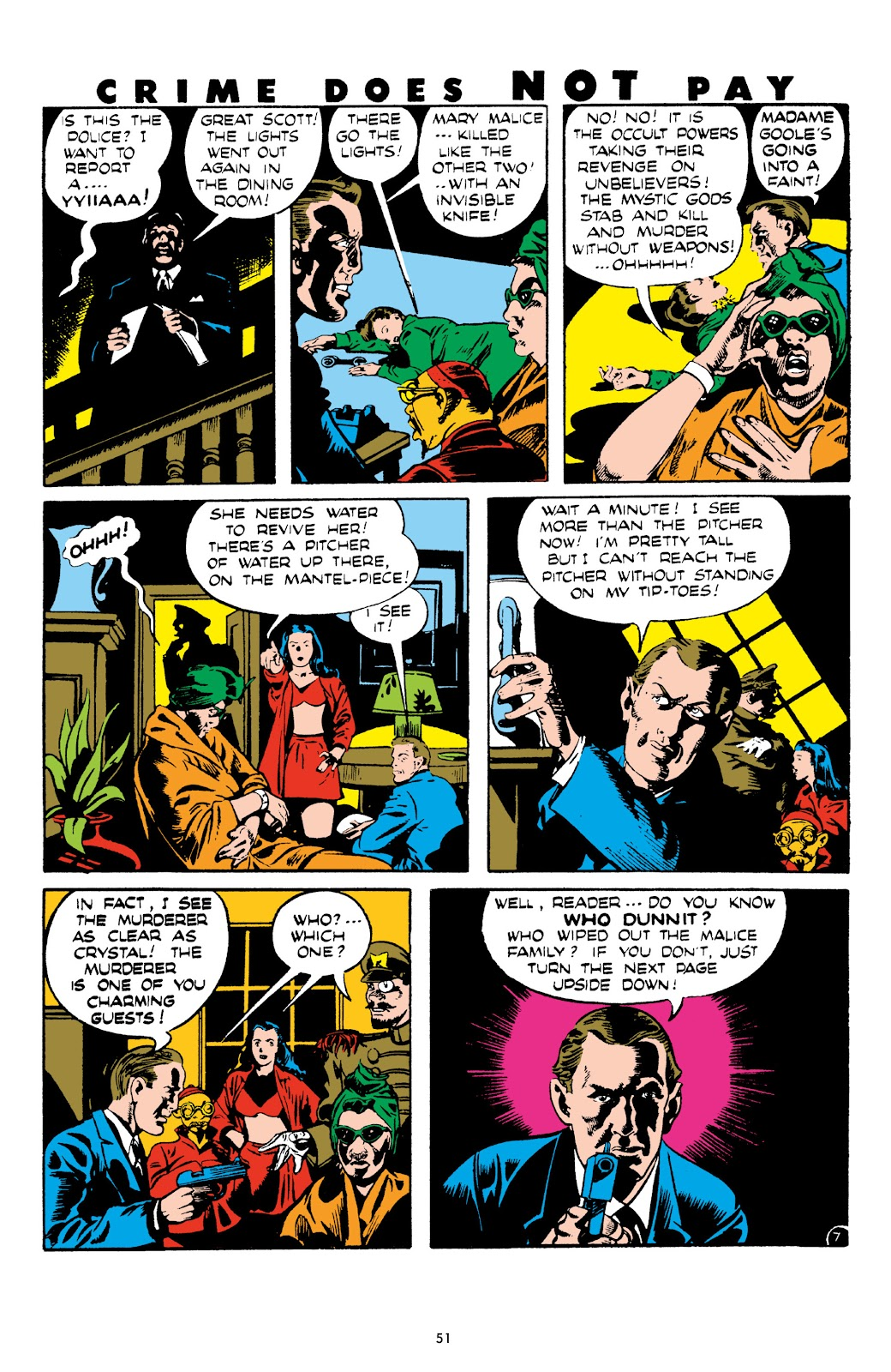 Read online Crime Does Not Pay Archives comic -  Issue # TPB 8 (Part 1) - 52