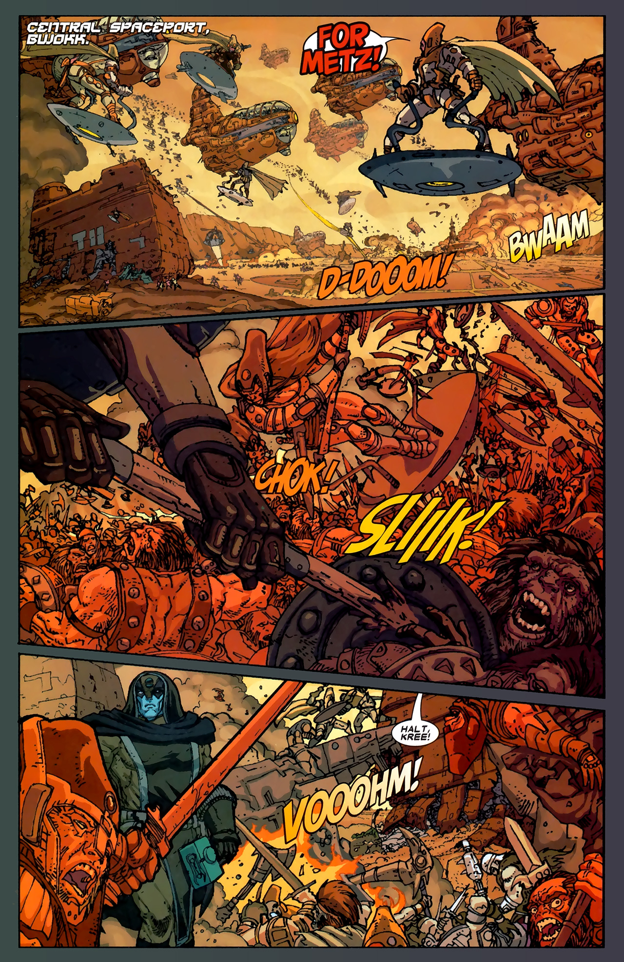 Read online Annihilation: Ronan comic -  Issue #1 - 12