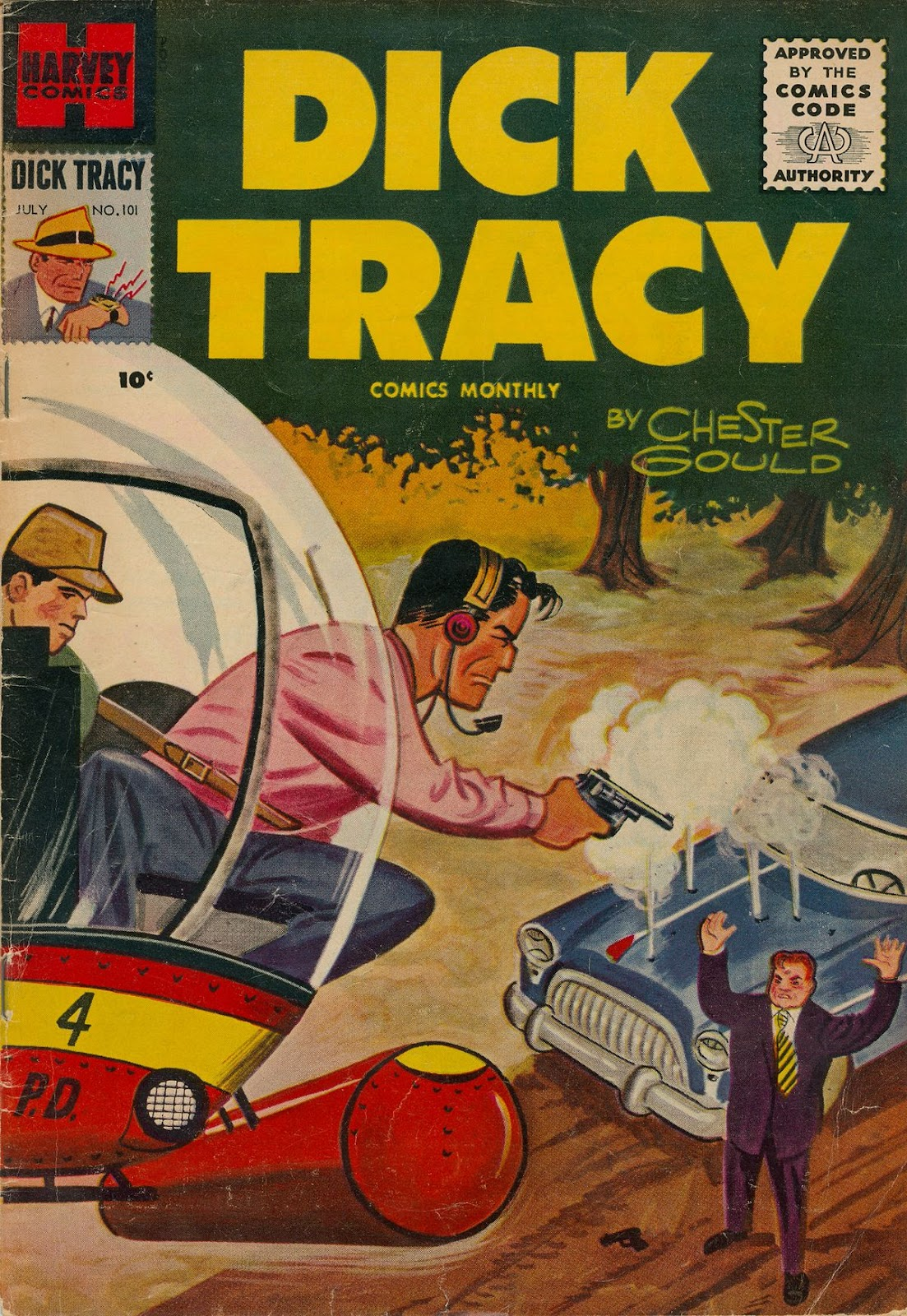 Dick Tracy (1950) 101 Page 1