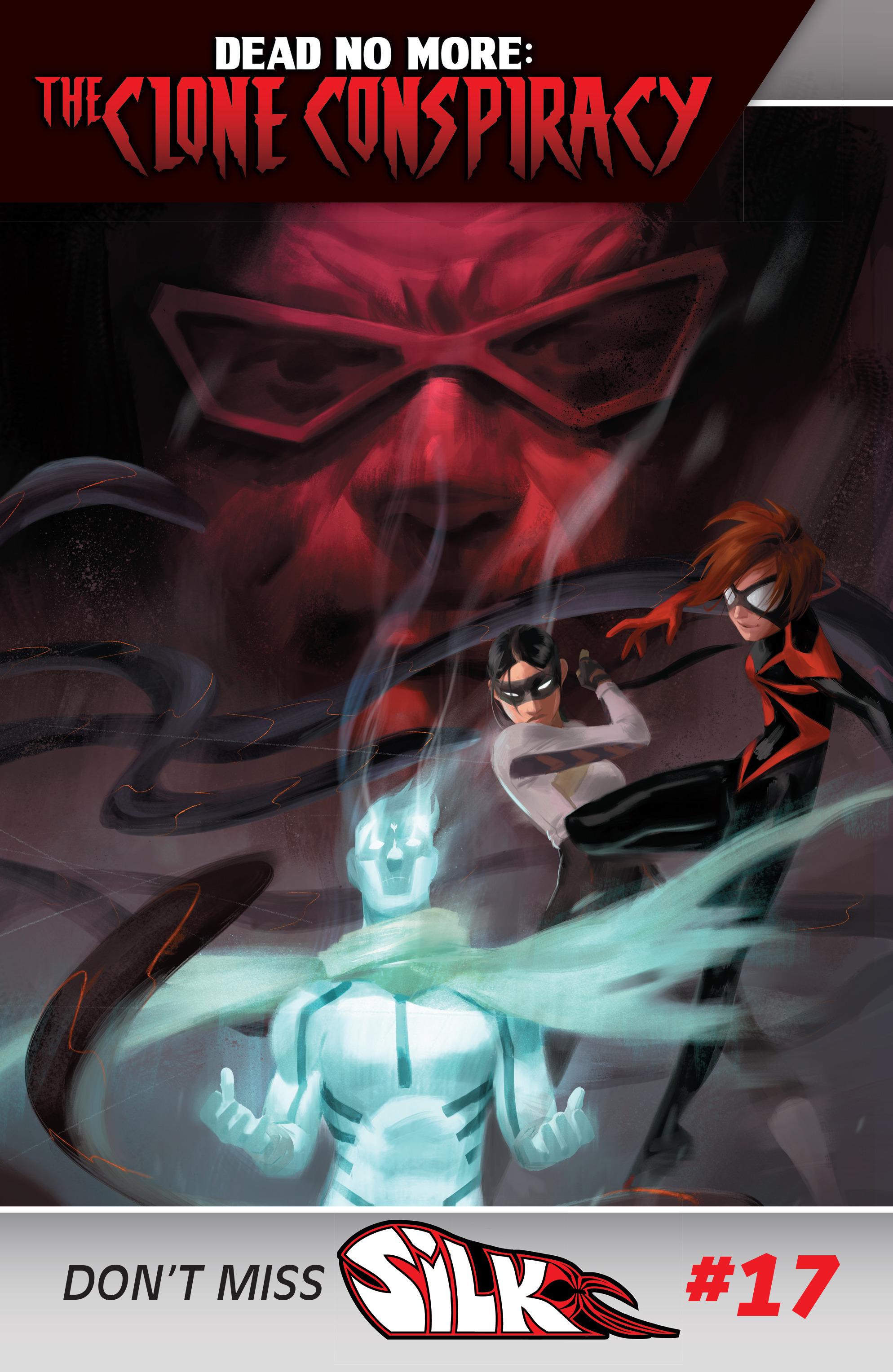 Read online Silk (2016) comic -  Issue #16 - 22